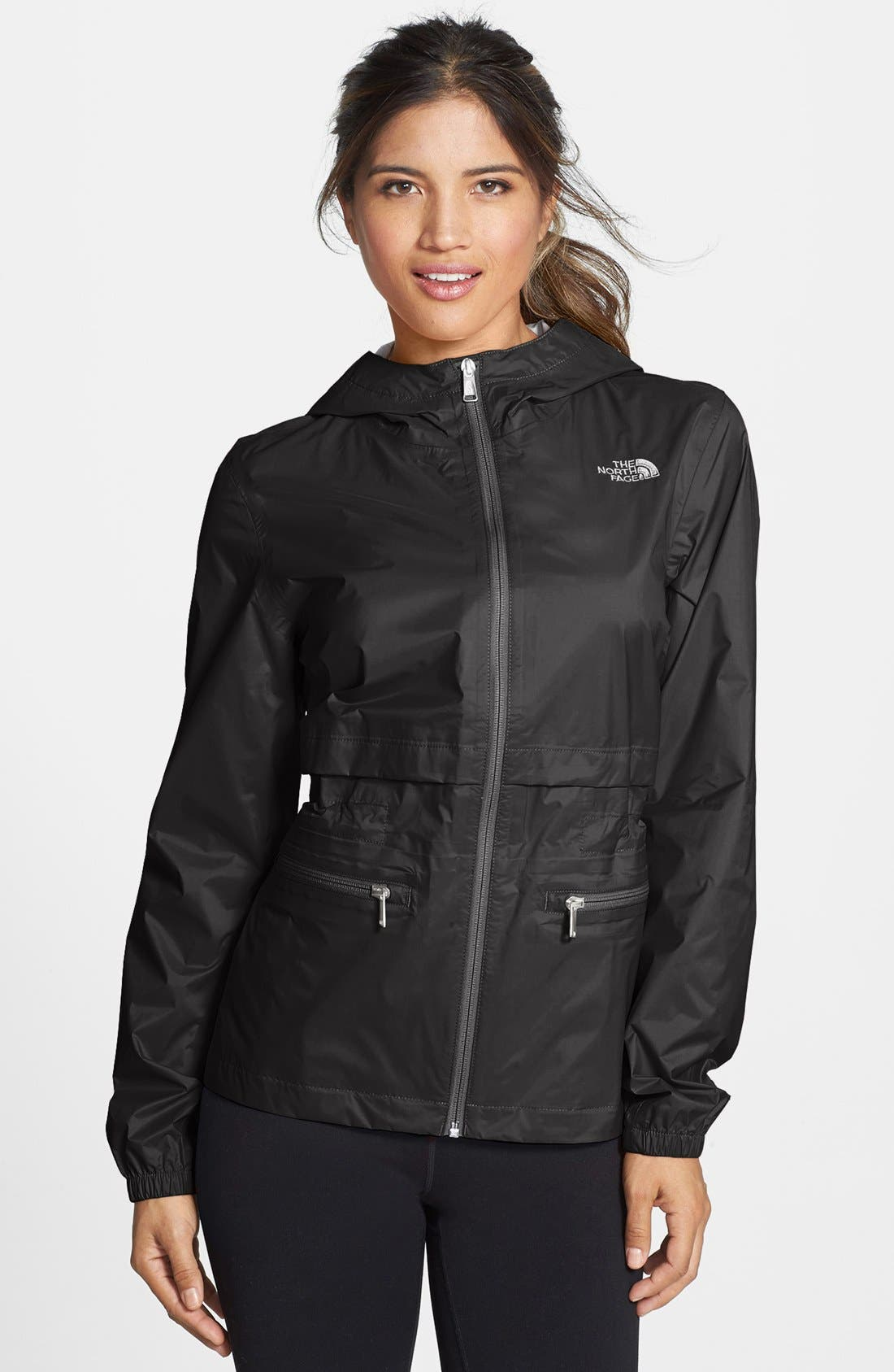 Alternate Image 1 Selected - The North Face 'Karenna' Hooded Rain Jacket