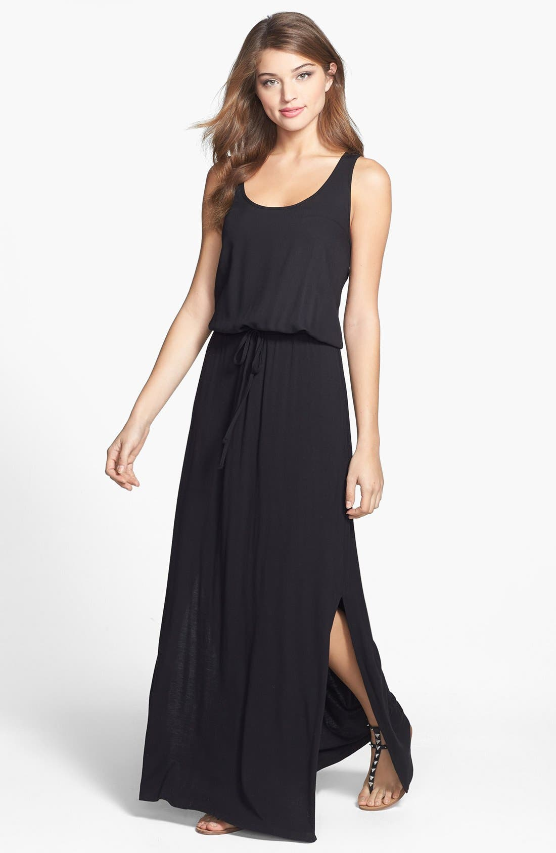Main Image - Halogen® Racerback Maxi Dress