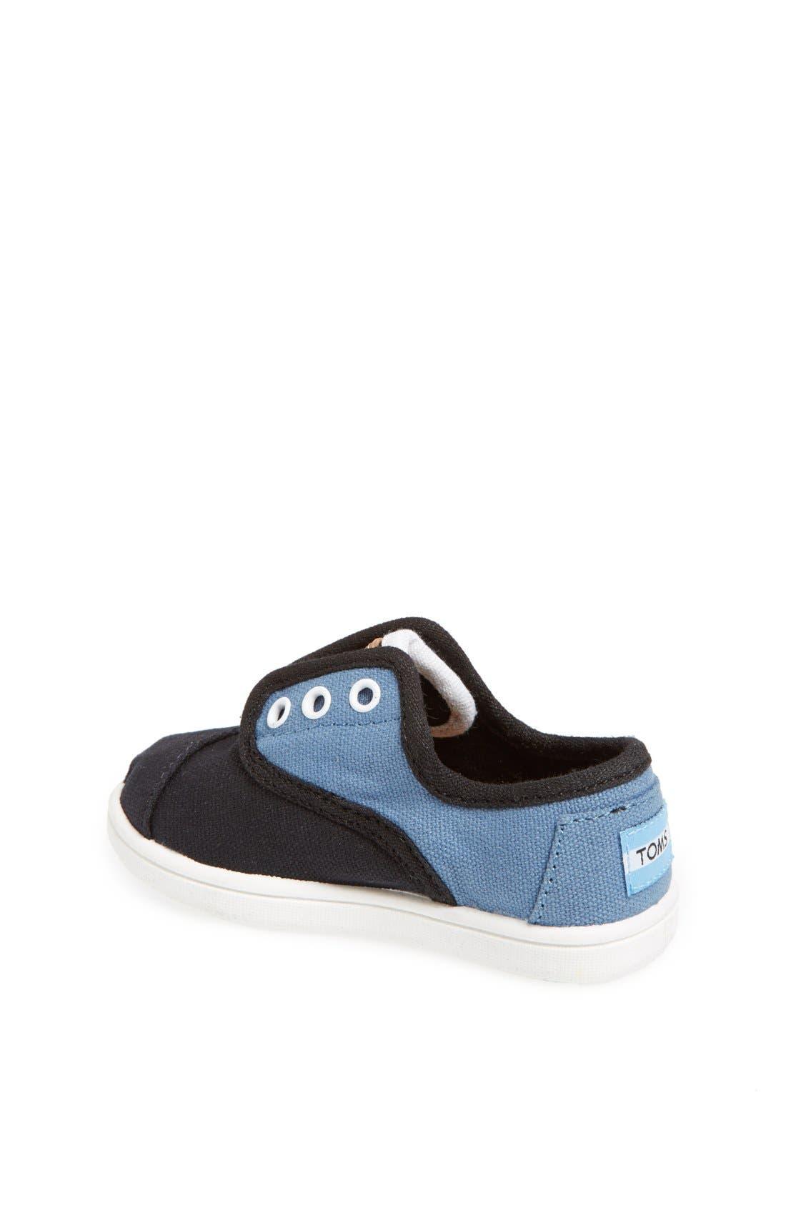 Alternate Image 2  - TOMS 'Cordones - Tiny' Sneaker (Baby, Walker & Toddler)
