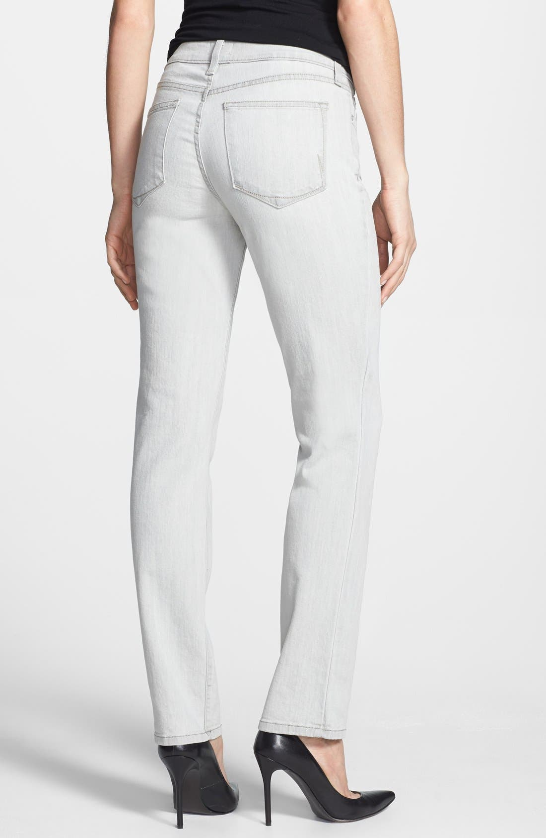 Alternate Image 2  - NYDJ 'Clarissa' Fitted Stretch Ankle Skinny Jeans (Salt Spring)