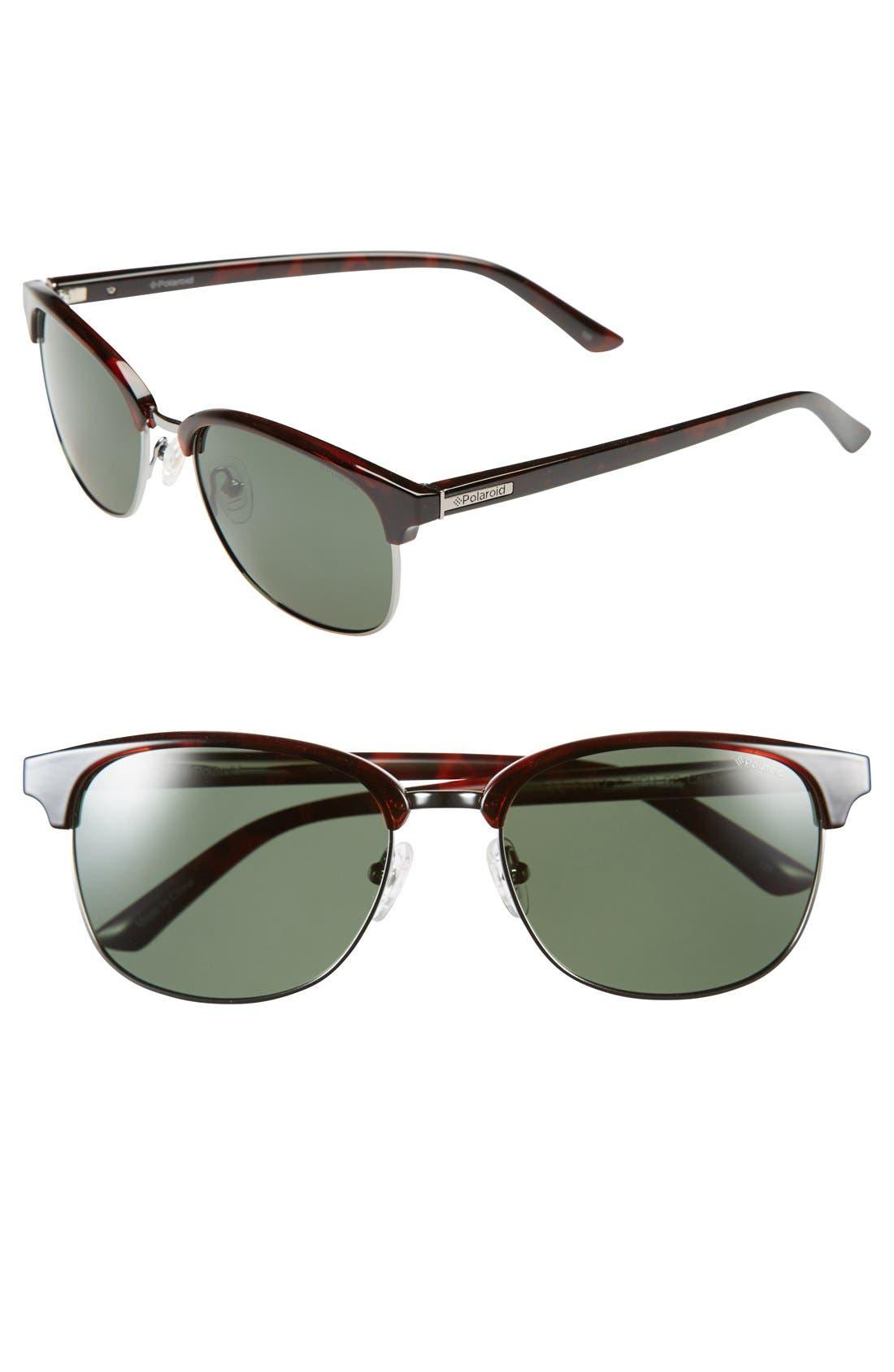 Alternate Image 1 Selected - Polaroid Eyewear 55mm Polarized Sunglasses