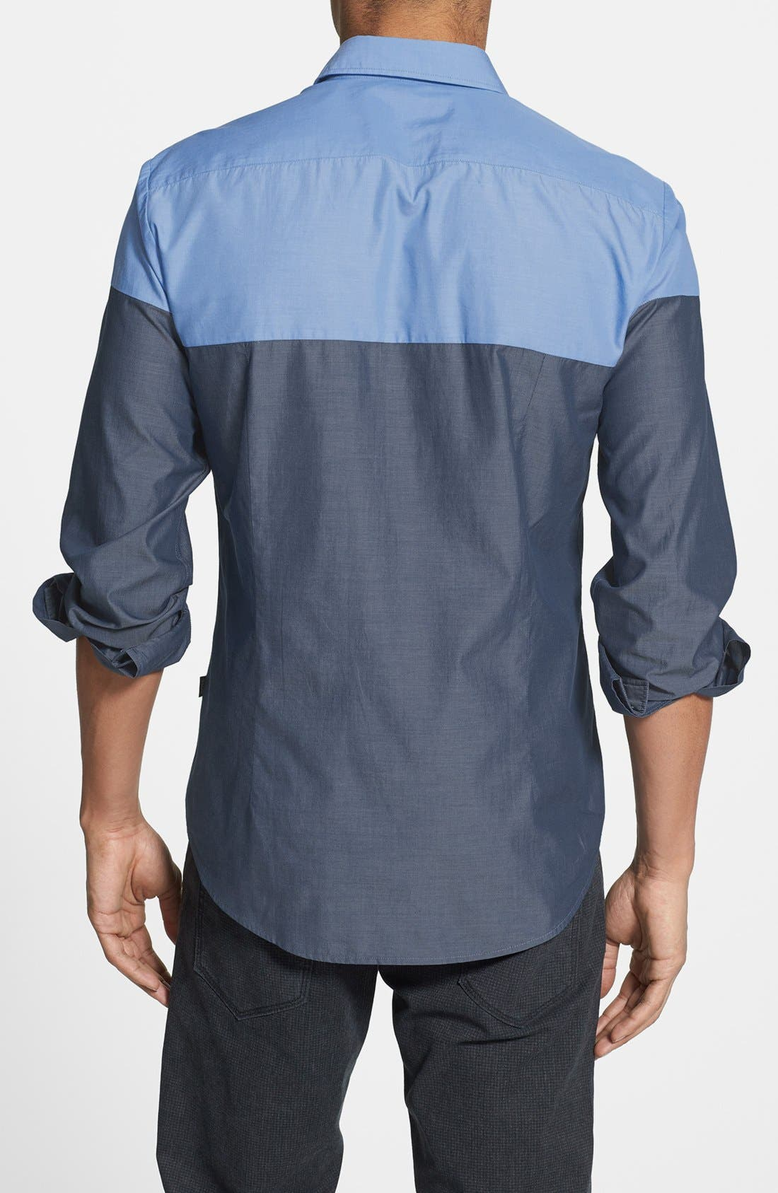Alternate Image 2  - BOSS HUGO BOSS 'Ronny' Colorblock Sport Shirt
