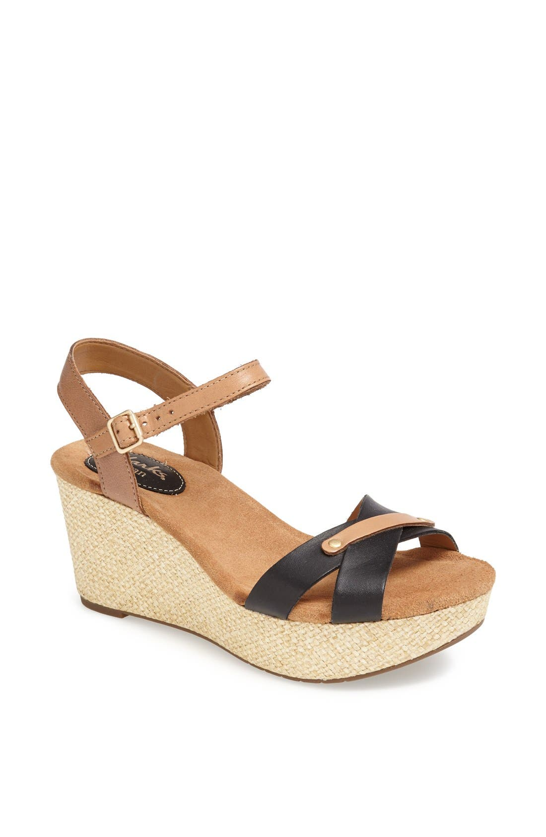 Alternate Image 1 Selected - Clarks® 'Caslynn Regina' Sandal