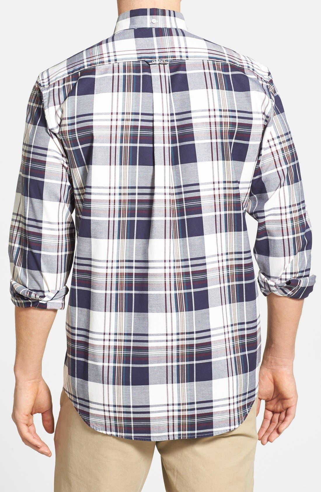 Alternate Image 2  - Gant 'O.P. Pinpoint' Oxford Sport Shirt