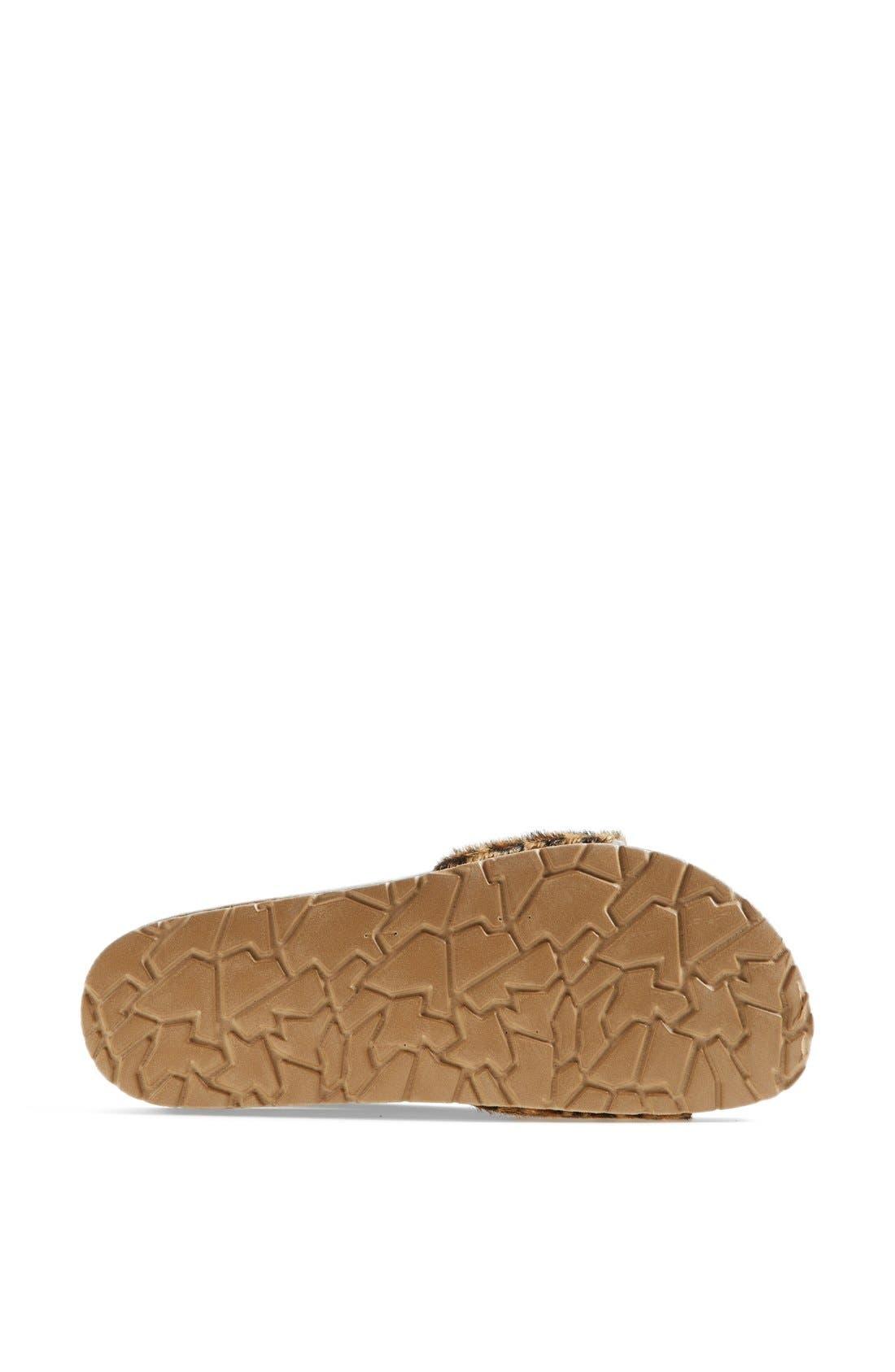 Alternate Image 4  - Seychelles 'So Far Away' Leopard Print Calf Hair Sandal