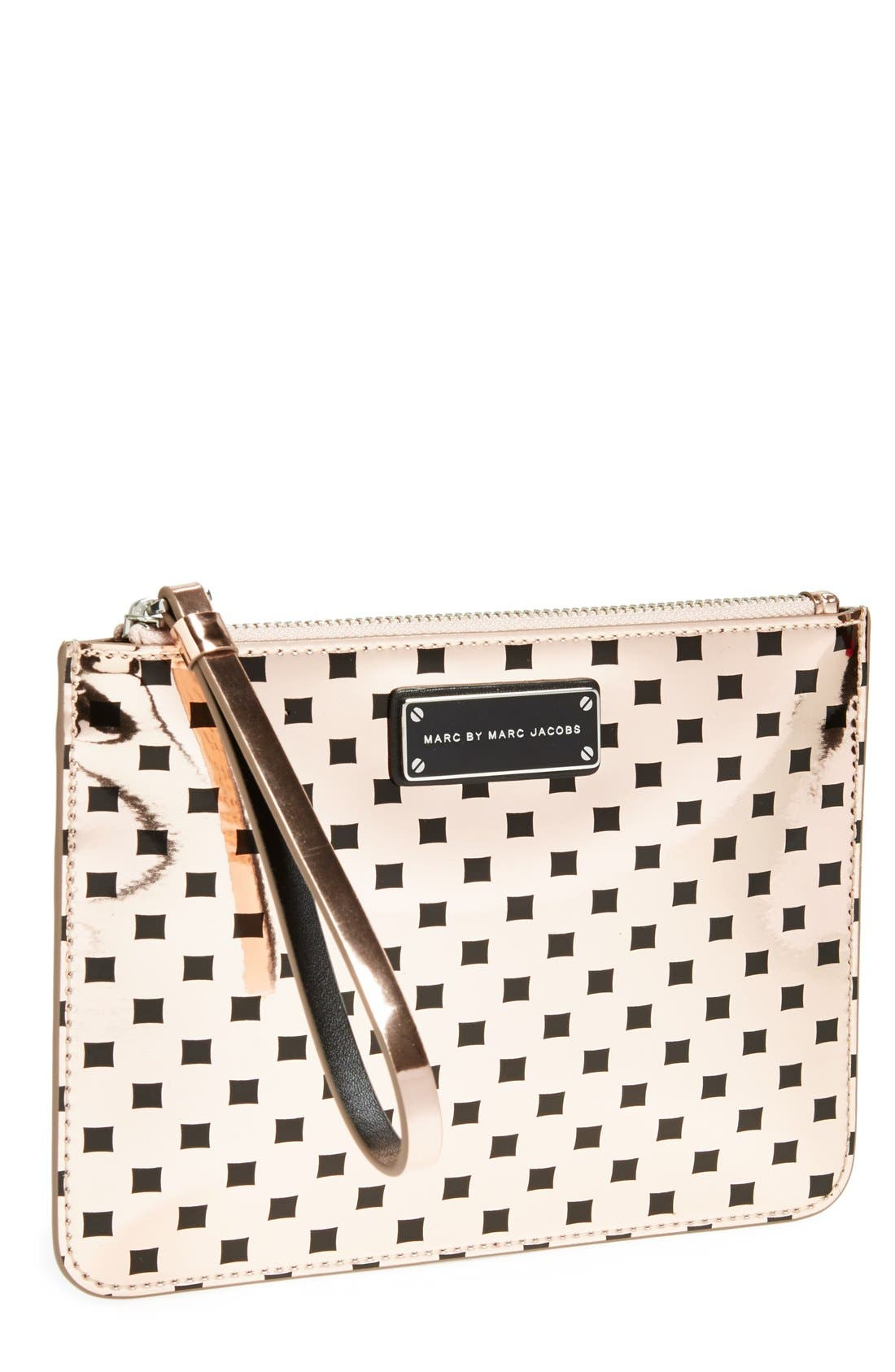 Alternate Image 1 Selected - MARC BY MARC JACOBS 'Techno Block' Wristlet
