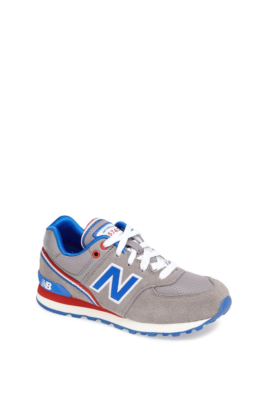 Alternate Image 1 Selected - New Balance '574 Jacket' Sneaker (Baby, Walker, Toddler, Little Kid & Big Kid)