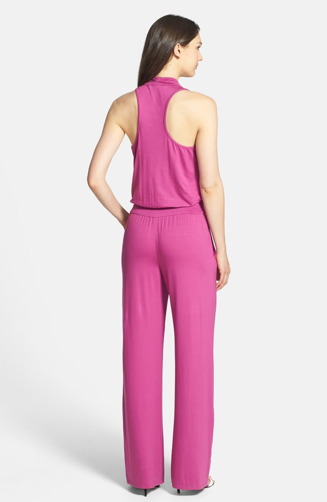 Alternate Image 2  - Trina Turk 'Raissa' Jersey Jumpsuit