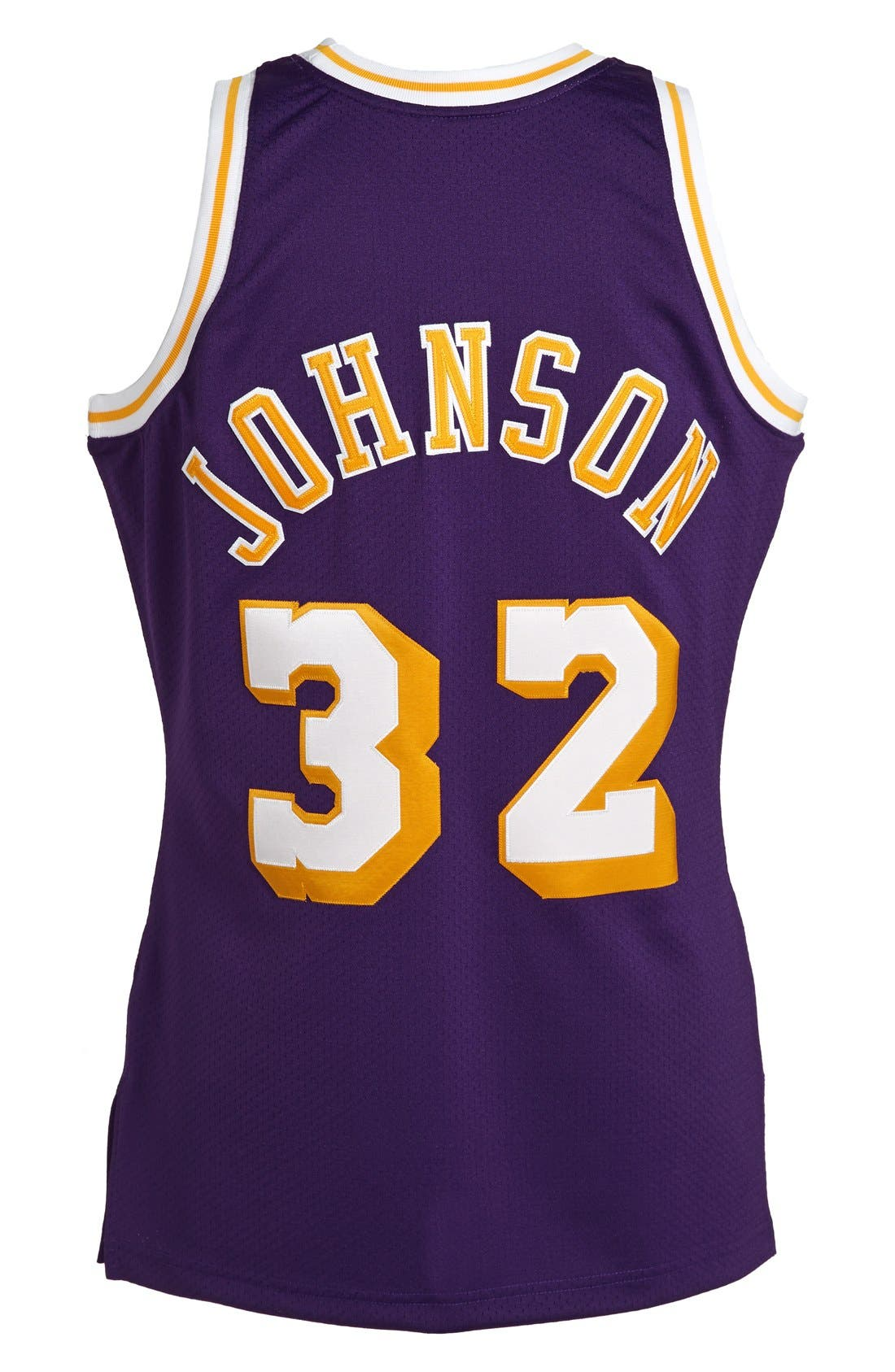 Alternate Image 2  - Mitchell & Ness 'Los Angeles Lakers 1984-1985 - Magic Johnson Authentic' Basketball Jersey