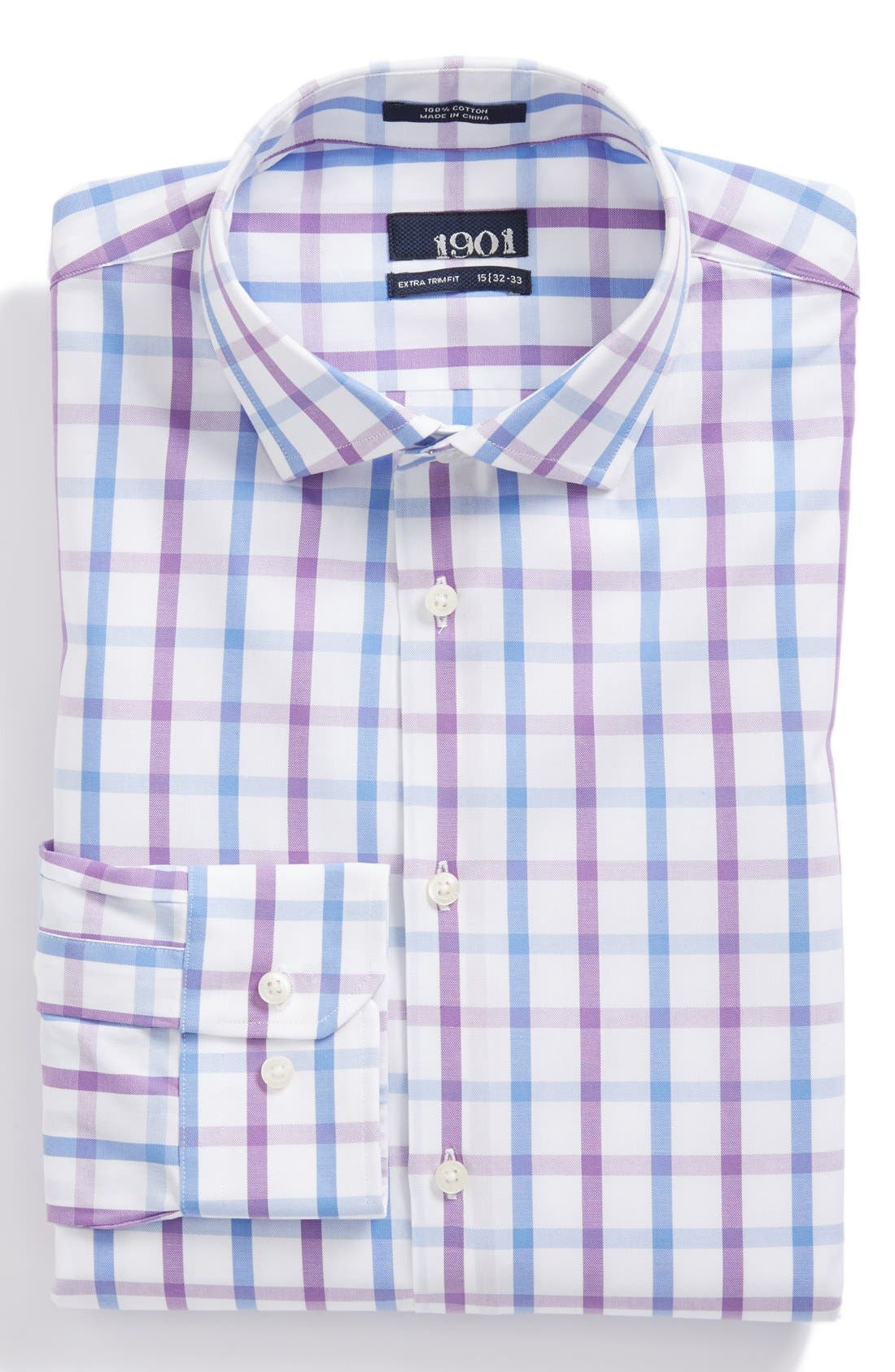 Alternate Image 1 Selected - 1901 Extra Trim Fit Dress Shirt