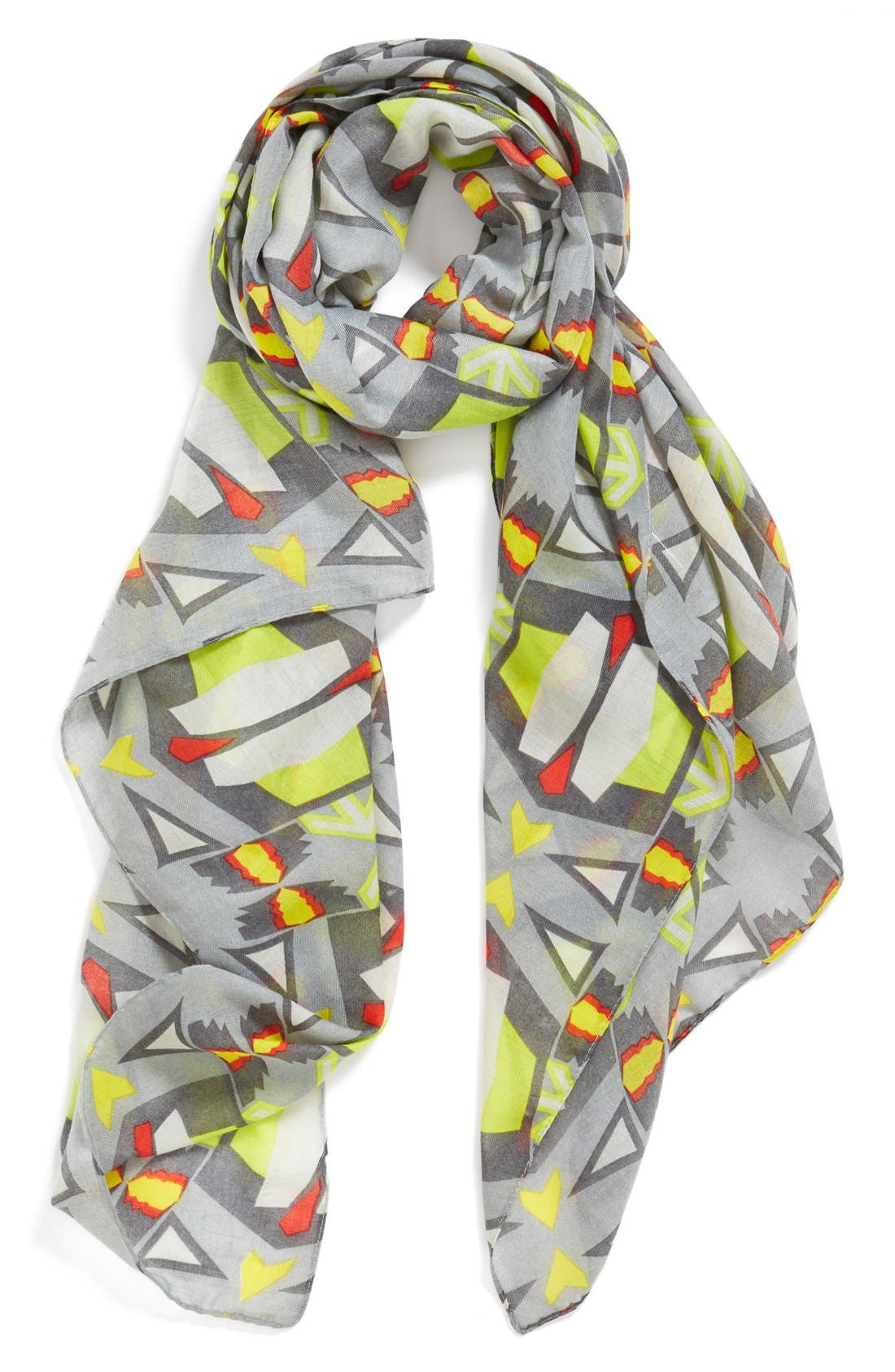 Main Image - Leith 'African Geo' Oversized Oblong Scarf
