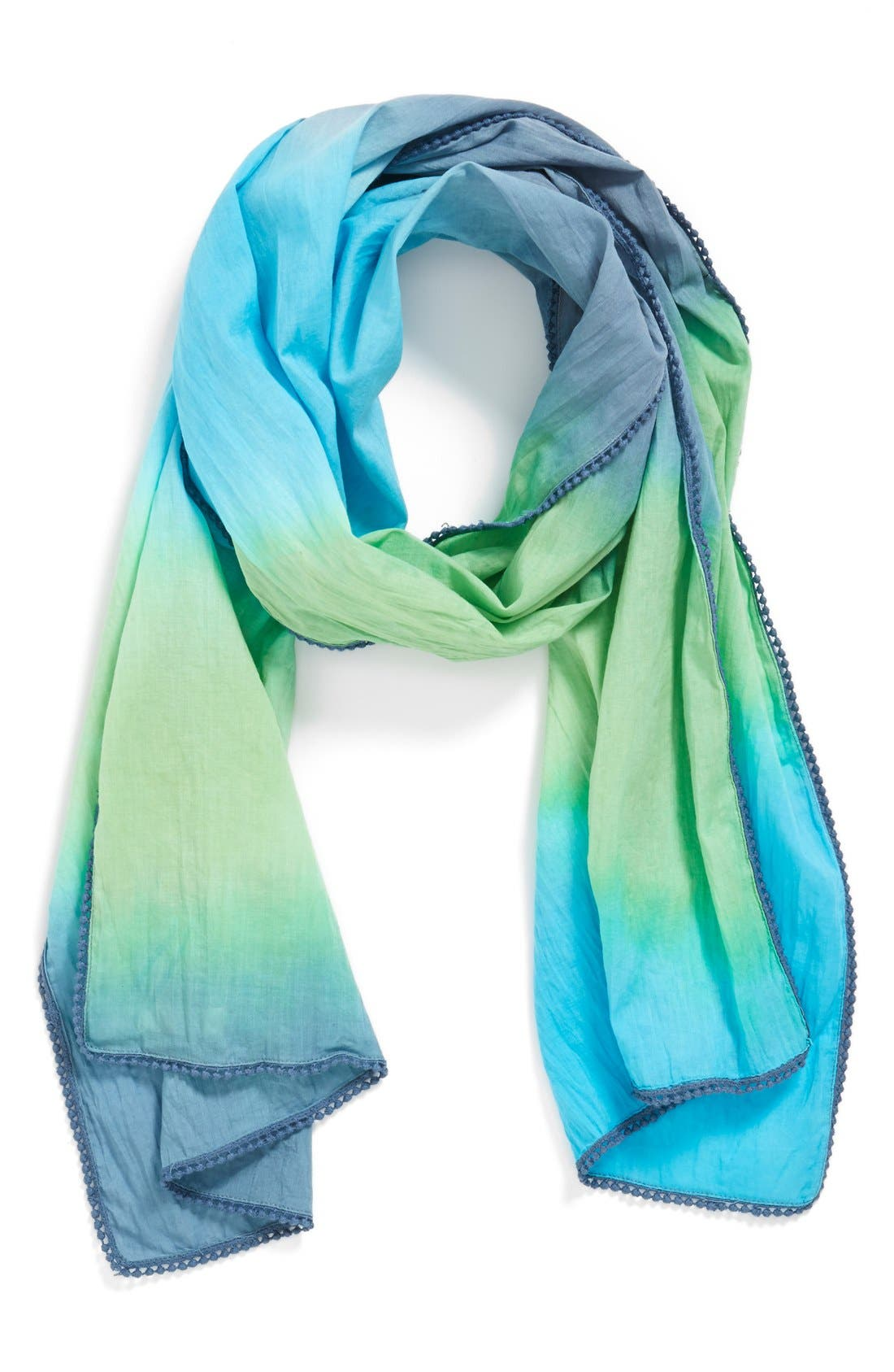 Alternate Image 1 Selected - Peek 'Sunita' Scarf (Girls)