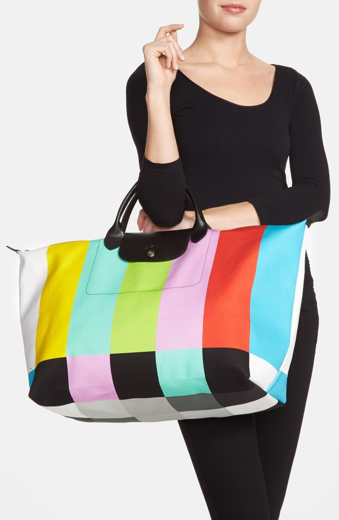 Alternate Image 2  - Longchamp 'Jeremy Scott - Color Bar' Travel Bag