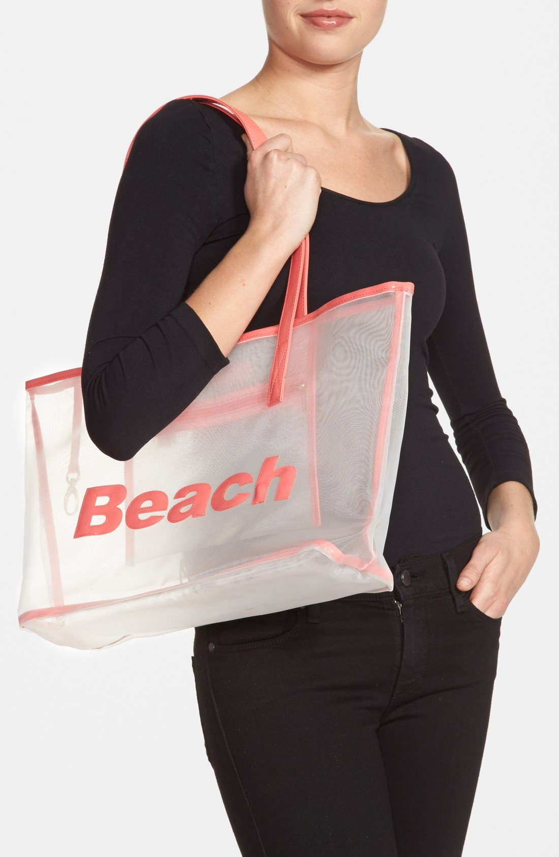 Alternate Image 2  - Lolo 'Amy - Beach' Mesh Tote