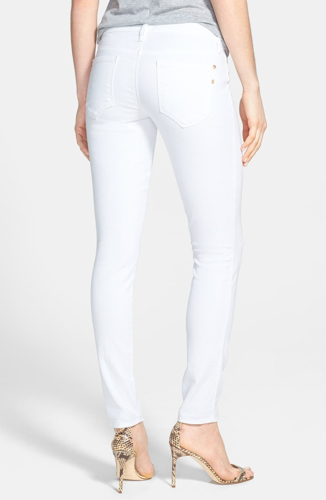 Alternate Image 2  - Genetic 'Shya' Skinny Jeans (Pale)