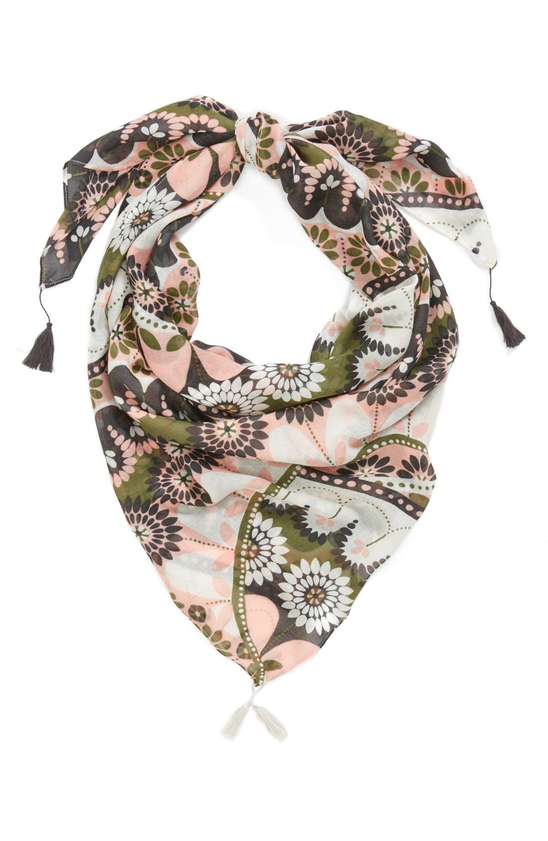 Alternate Image 1 Selected - Hinge 'Kasbah Swirl' Tassel Scarf