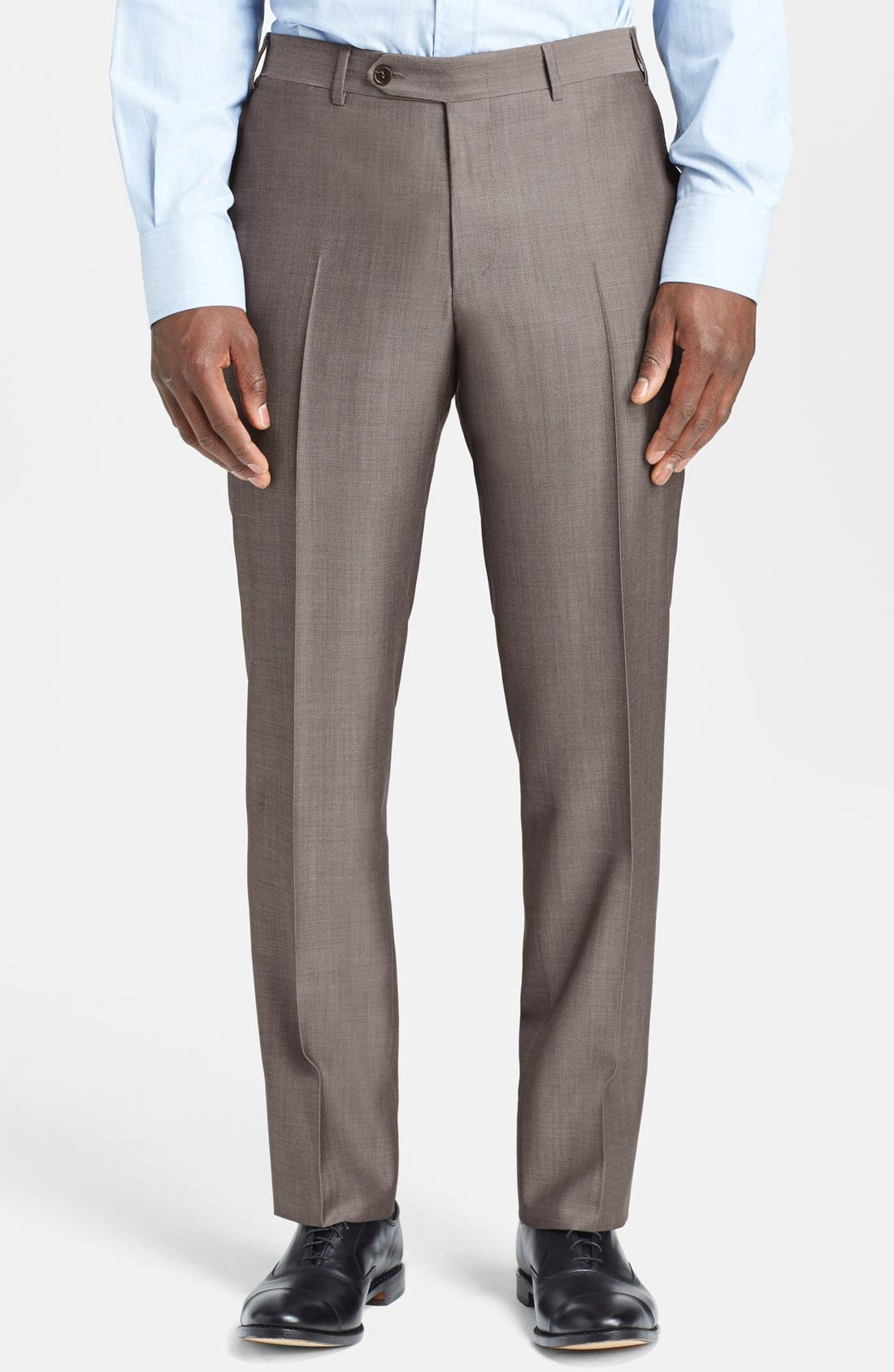 Alternate Image 4  - Canali Classic Fit Wool & Mohair Suit