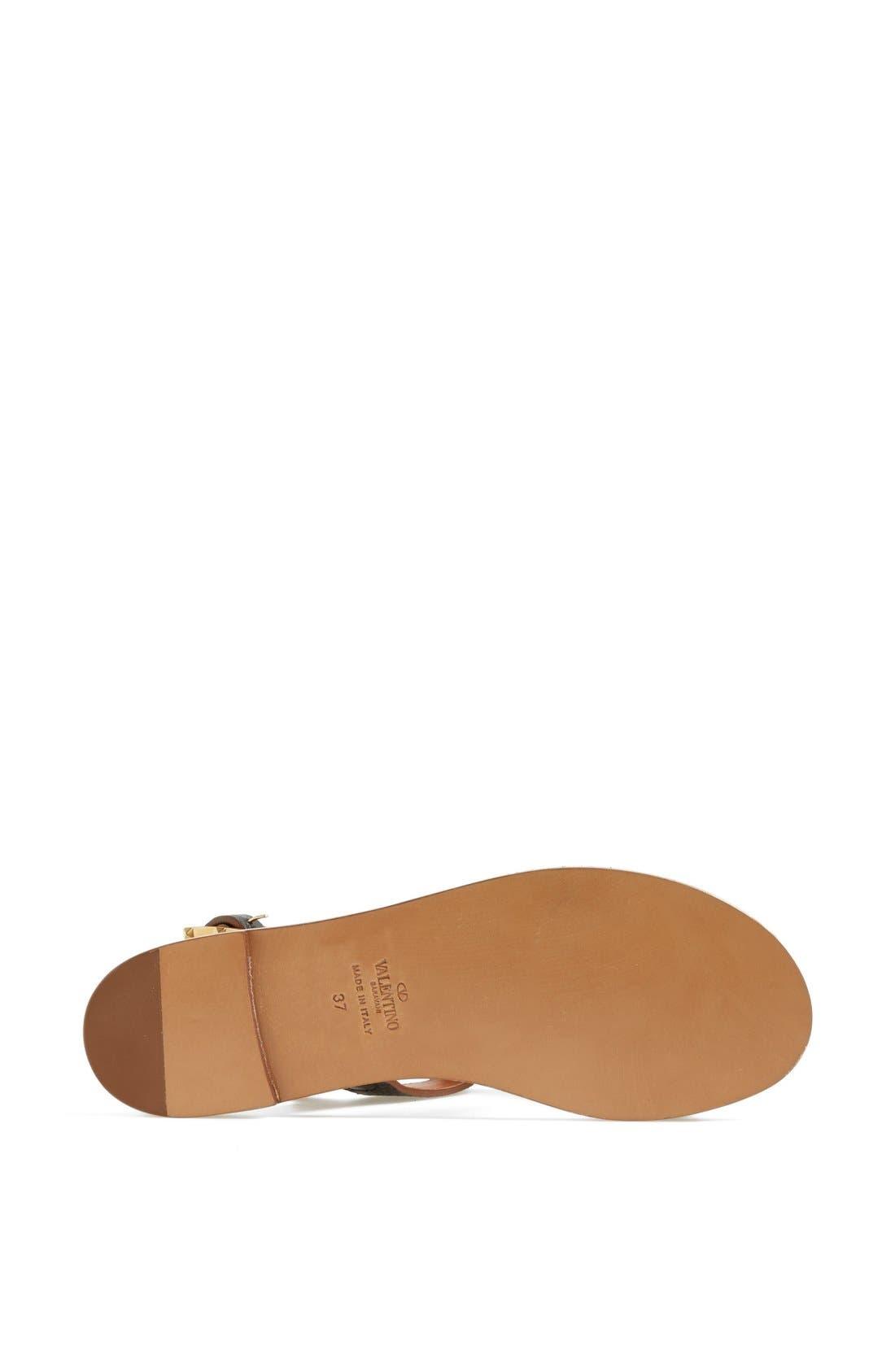Alternate Image 4  - VALENTINO GARAVANI 'Scarab' Sandal
