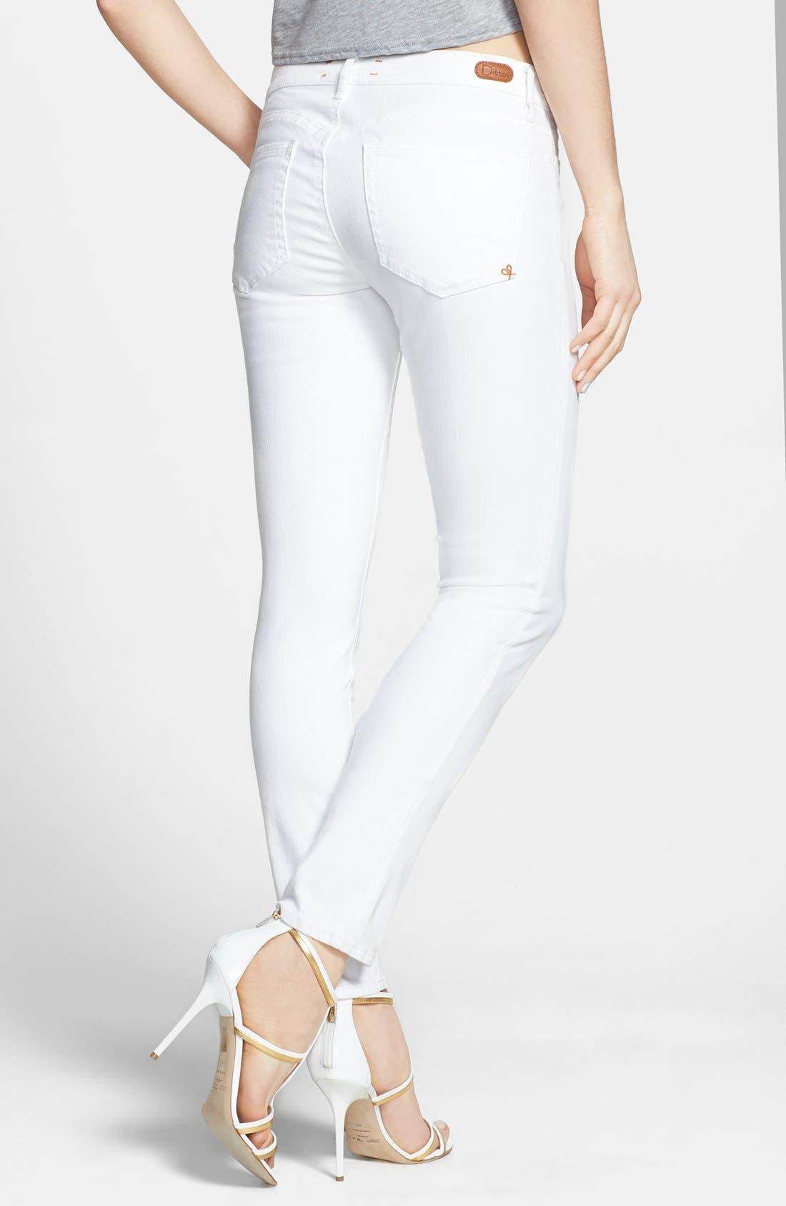 Alternate Image 2  - Dittos 'Selena' Super Skinny Jeans