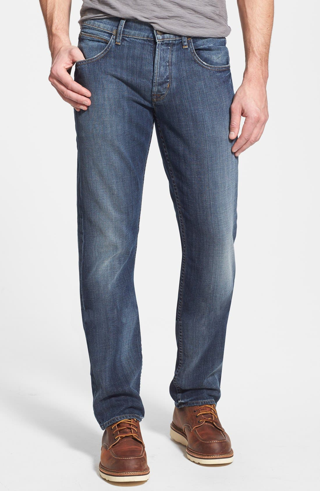 Alternate Image 1 Selected - Hudson Jeans 'Byron' Straight Leg Jeans (Down South)