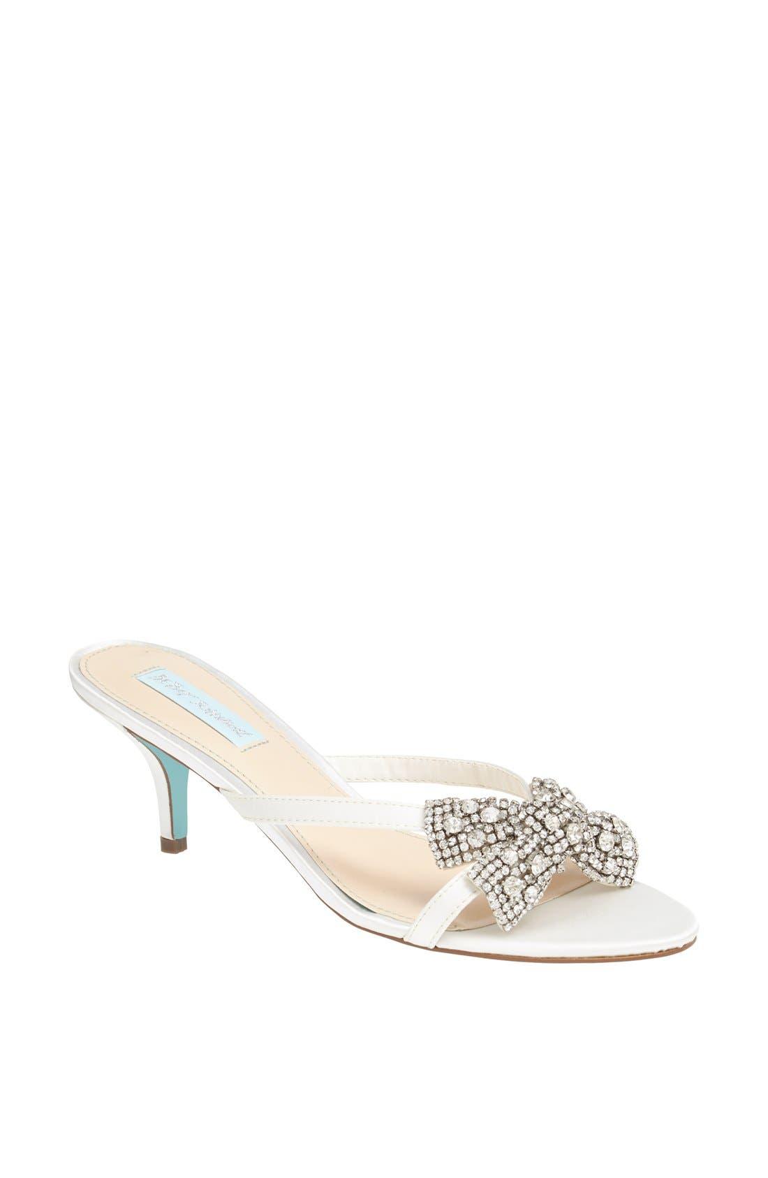 Alternate Image 1 Selected - Betsey Johnson 'Blush' Sandal