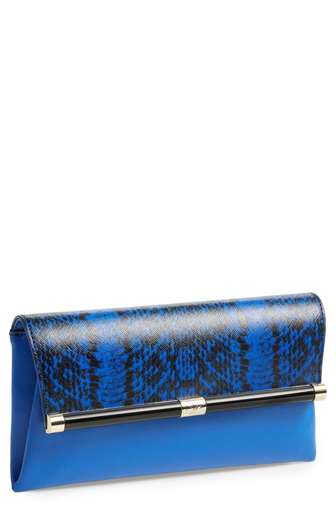 Alternate Image 1 Selected - Diane Von Furstenberg '440' Envelope Clutch