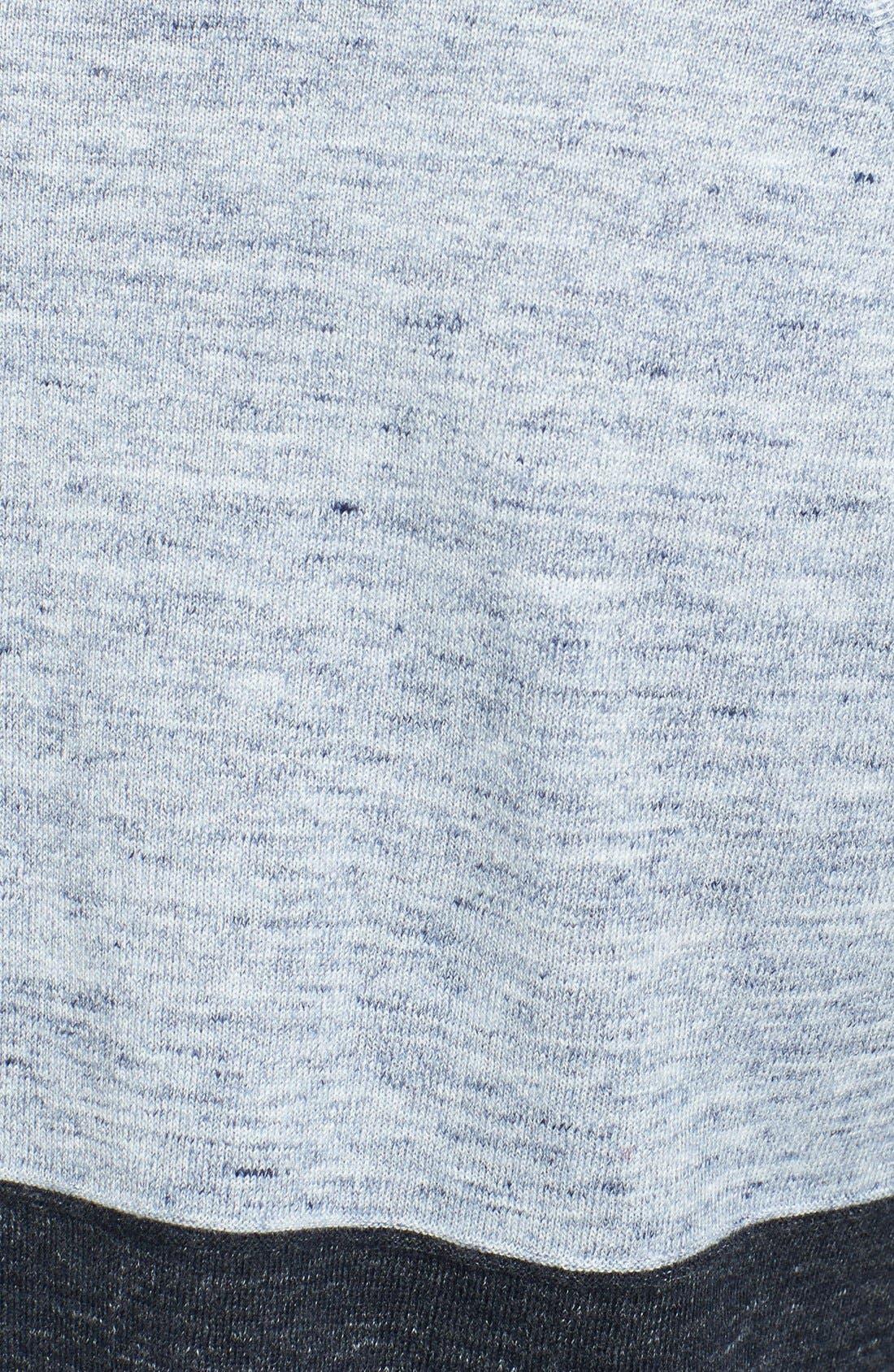 Alternate Image 3  - Vince 'Breezy' Colorblock Crewneck Sweater