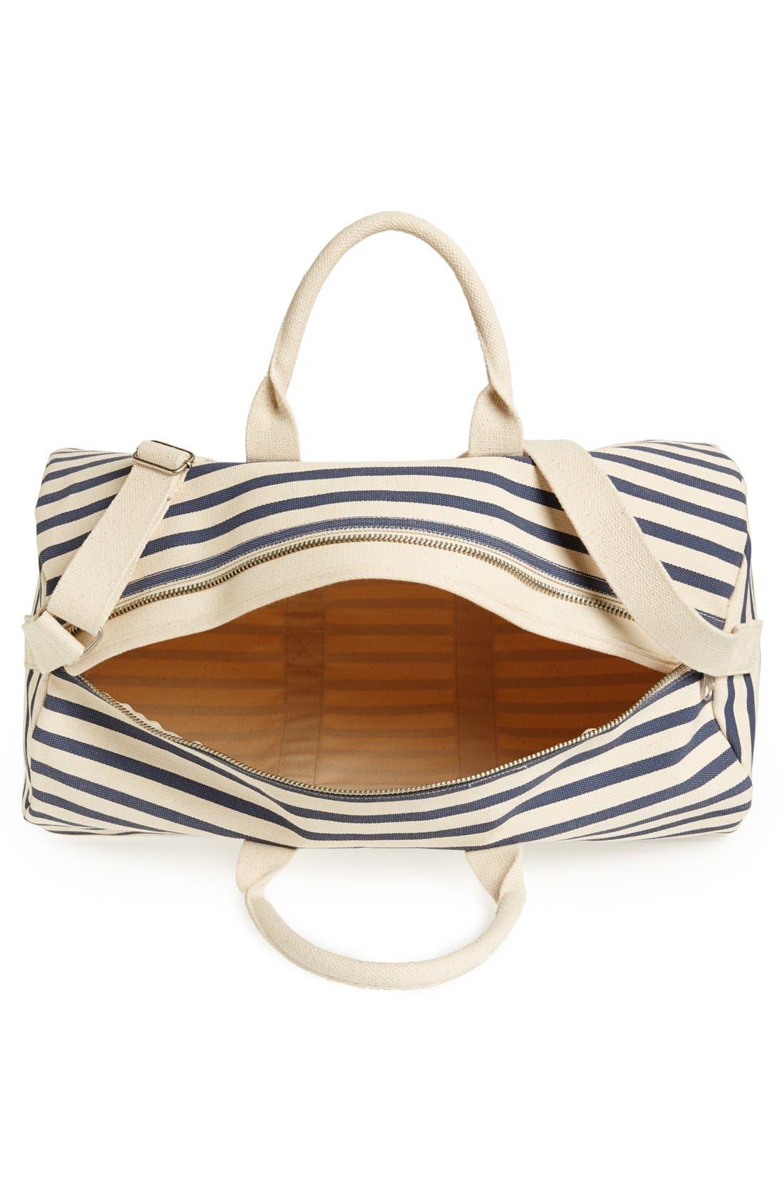 Alternate Image 3  - Baggu® Canvas Duffel Bag (22 Inch)