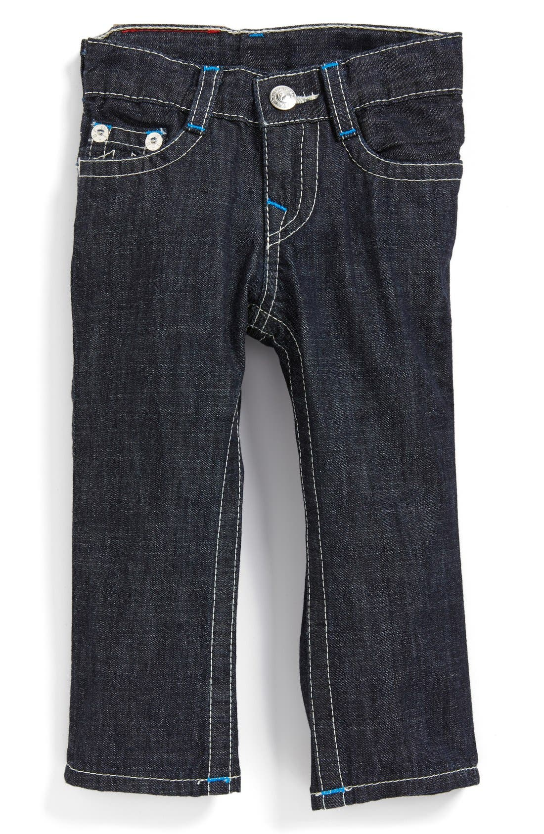 Alternate Image 2  - True Religion Brand Jeans 'Jack' Slim Fit Jeans (Baby Boys)