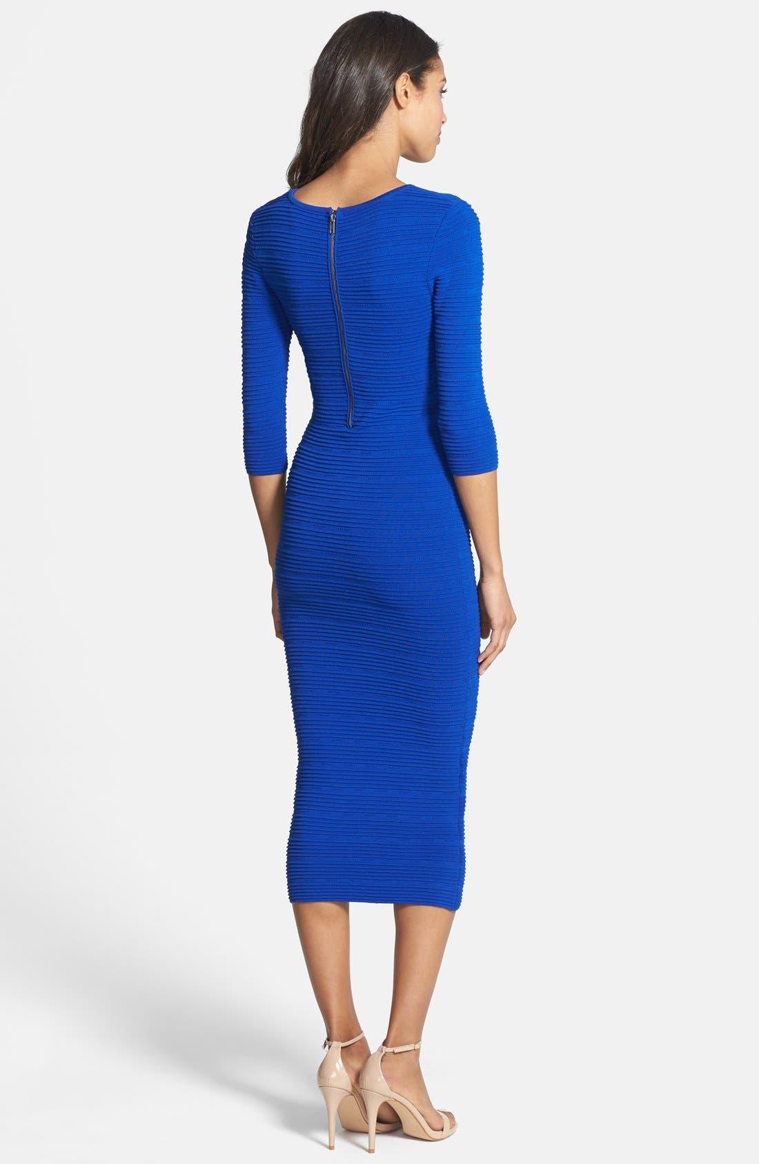 Alternate Image 2  - Felicity & Coco Knit Body-Con Midi Dress (Nordstrom Exclusive)