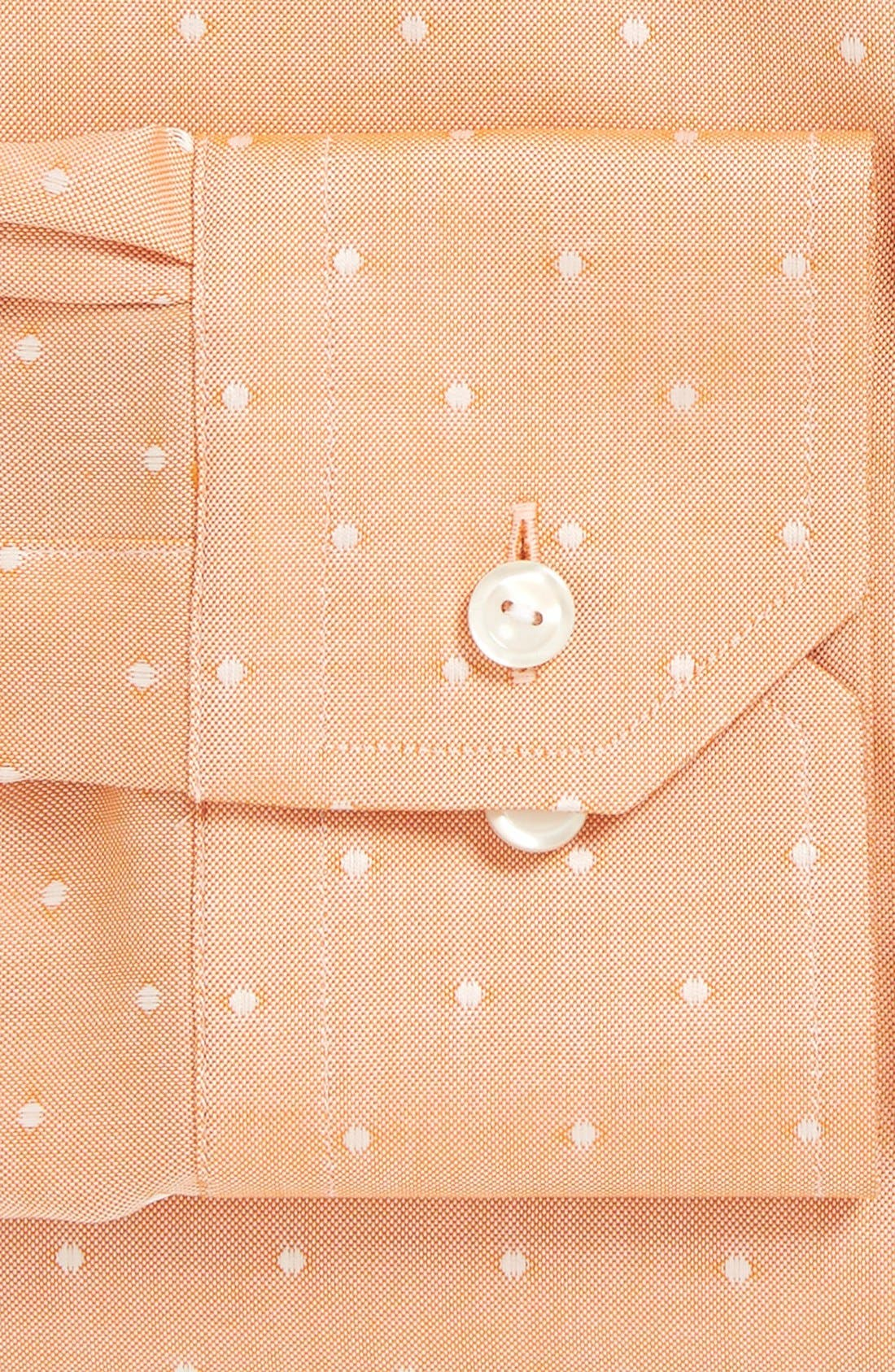Alternate Image 2  - Eton Slim Fit Dot Dress Shirt