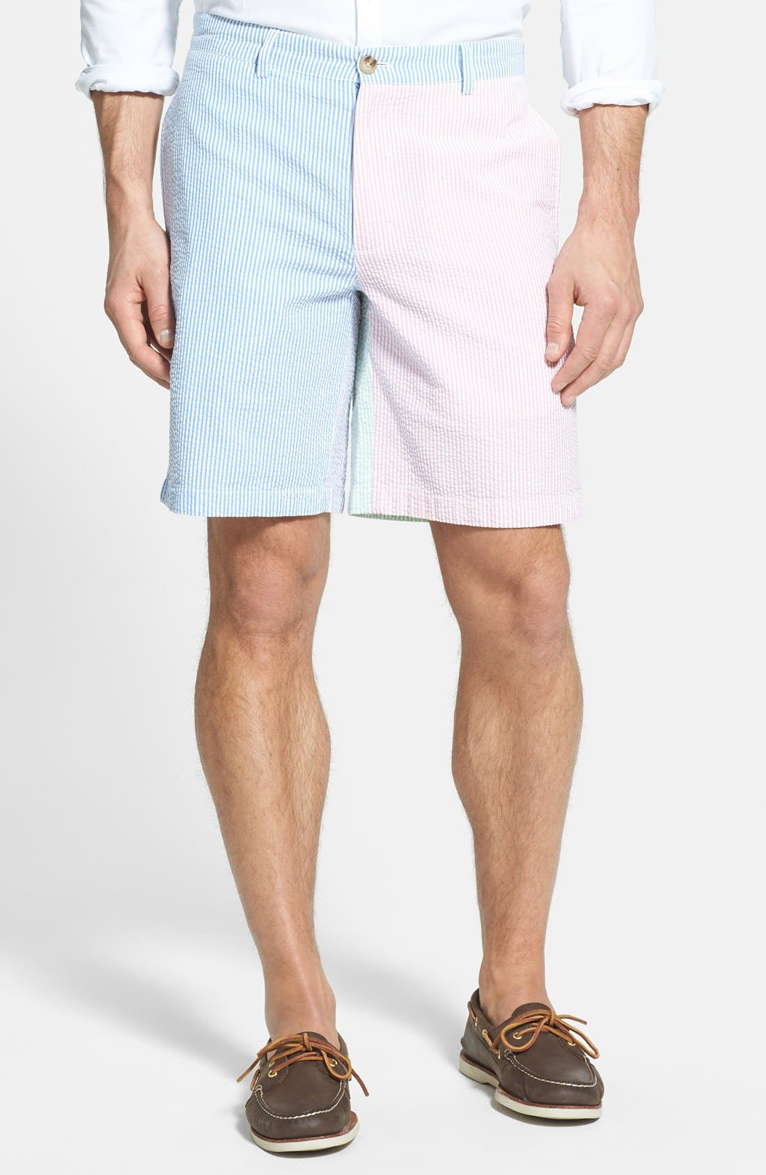Alternate Image 1 Selected - Vineyard Vines Multicolor Seersucker Shorts