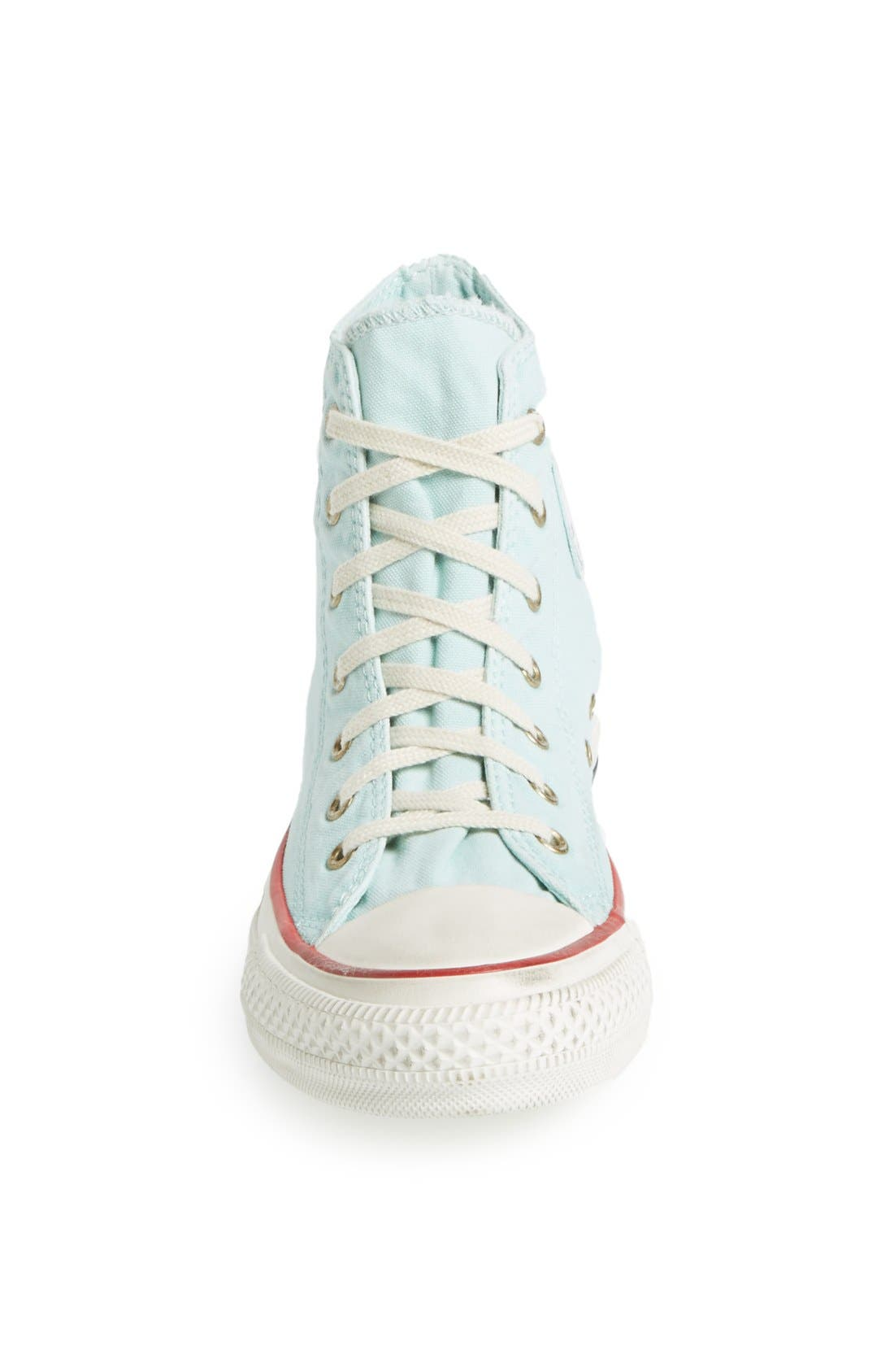 Alternate Image 3  - Converse Chuck Taylor® All Star® Washed Canvas High Top Sneaker (Women)