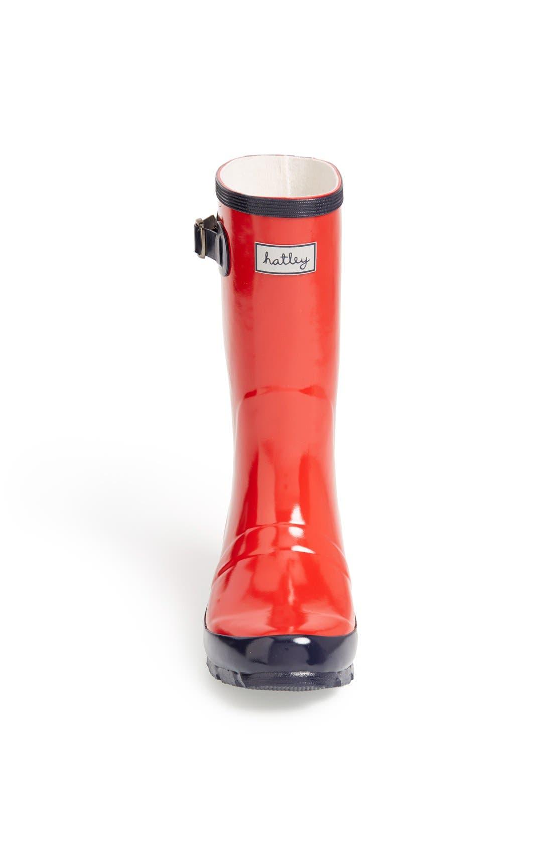 Alternate Image 3  - Hatley 'Splash' Rain Boot (Toddler & Little Kid)