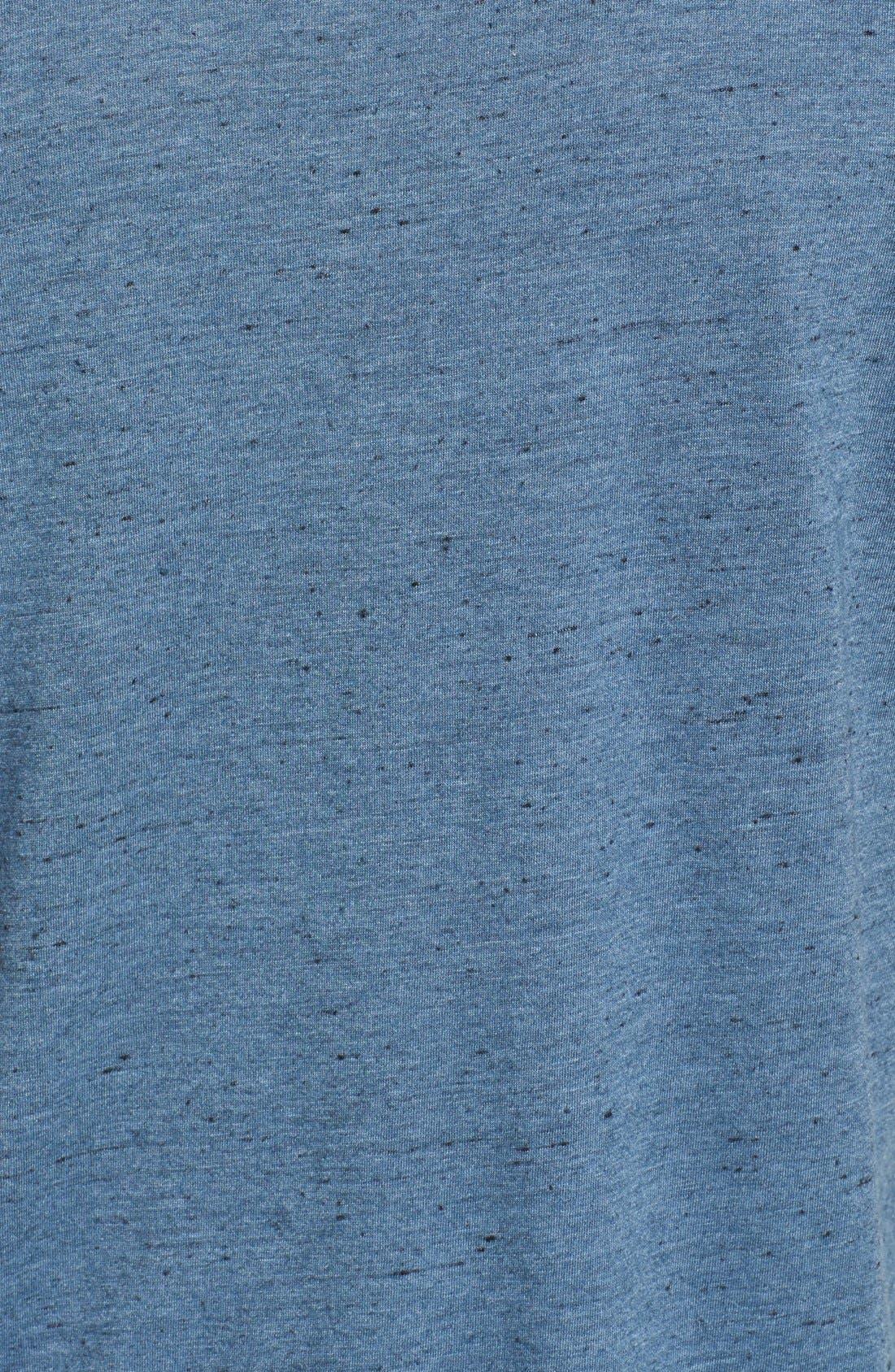 Alternate Image 3  - AG Triblend V-Neck T-Shirt