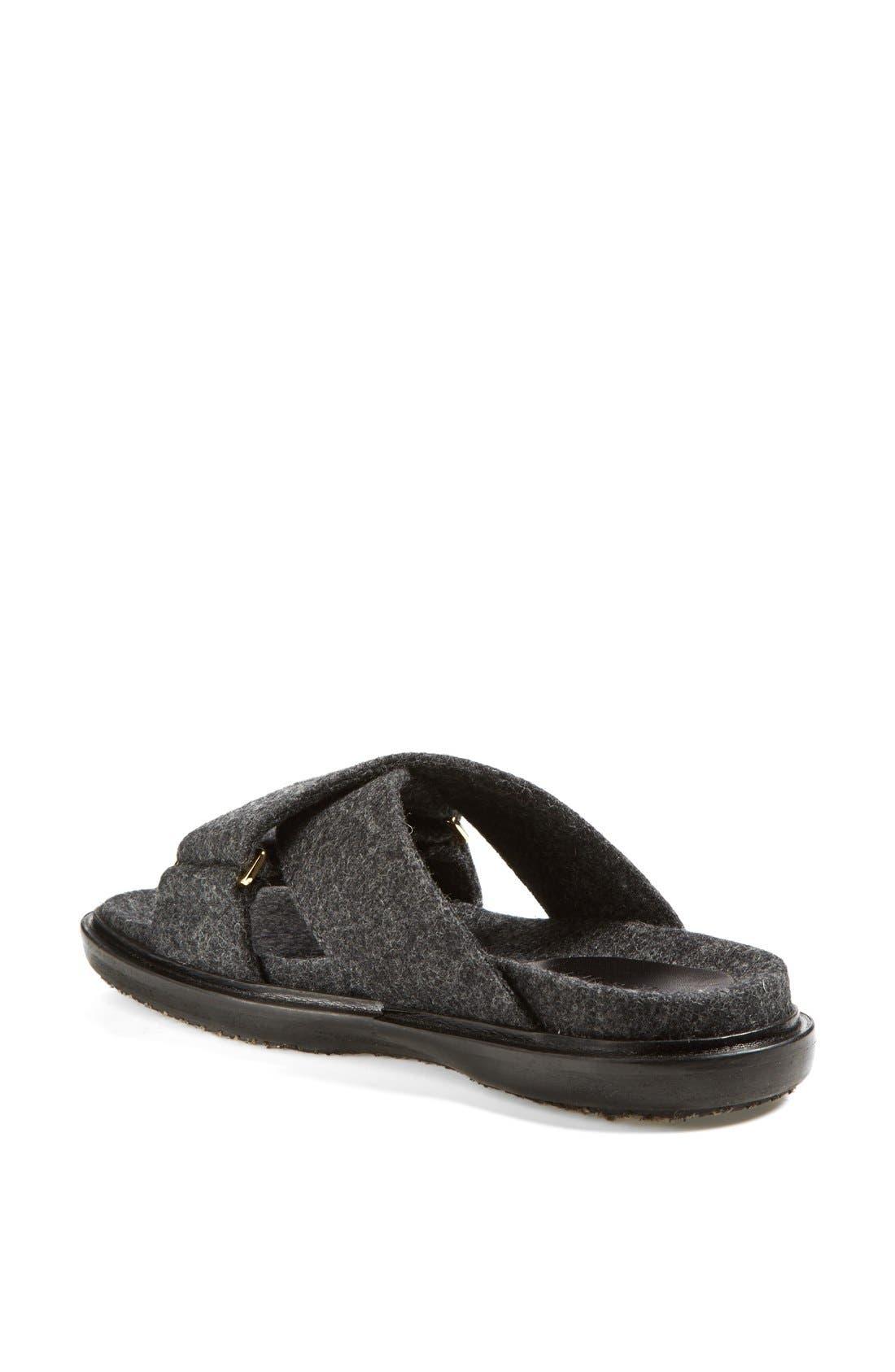 Alternate Image 2  - Marni Flannel Sandal