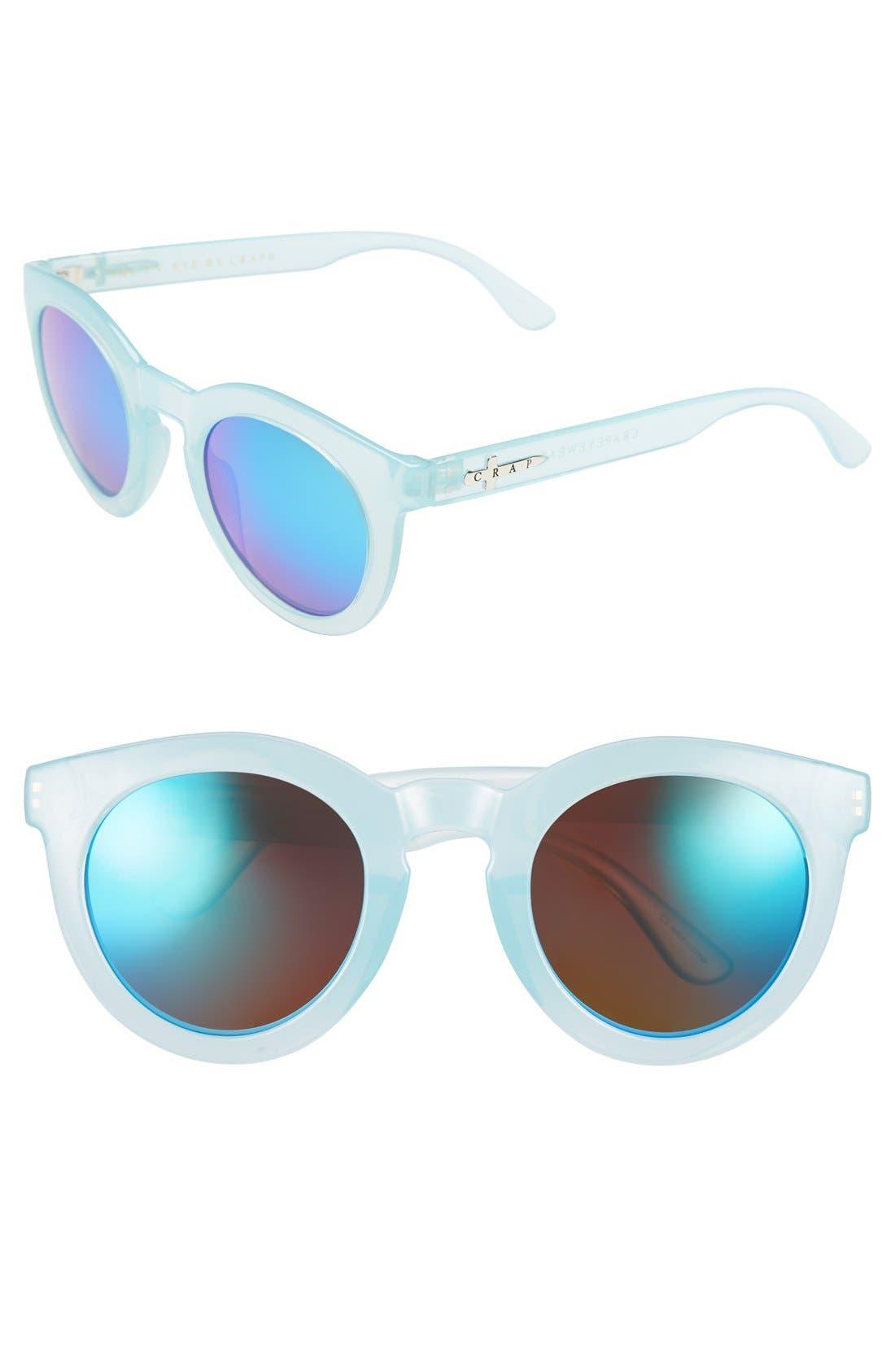 Alternate Image 1 Selected - CRAP Eyewear 'The T.V. Eye' 55mm Sunglasses