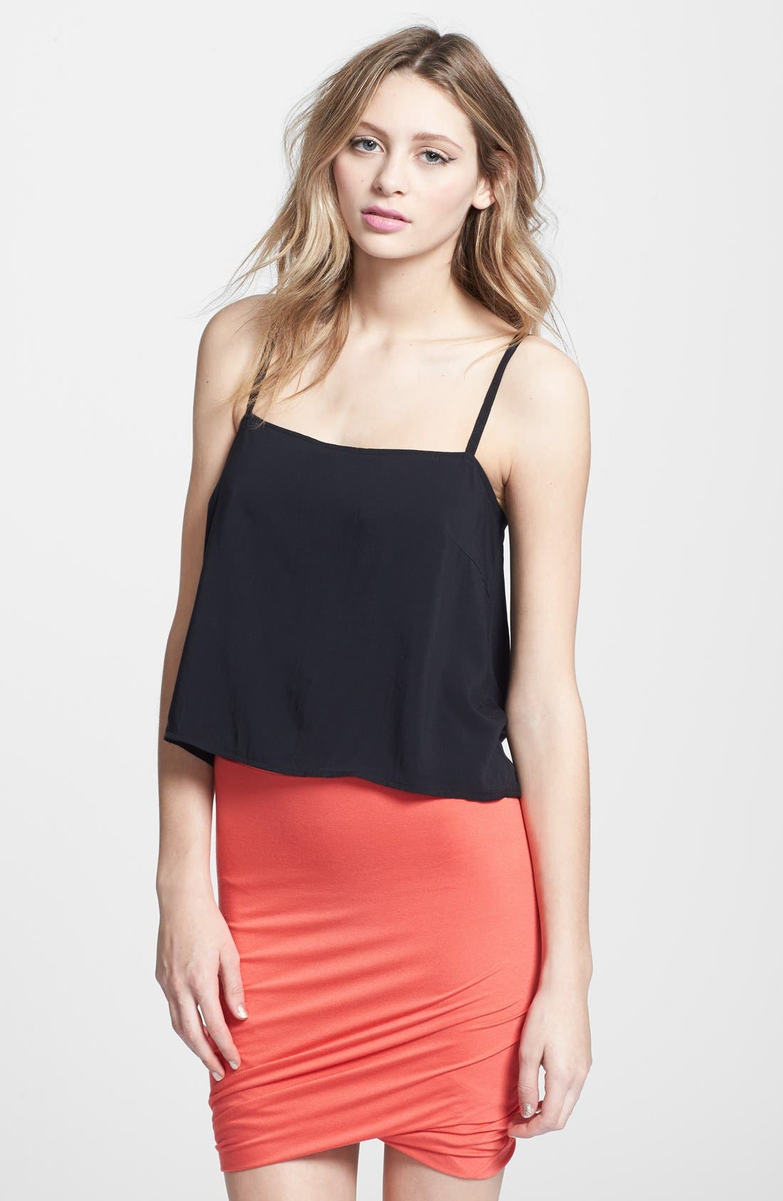 Alternate Image 1 Selected - Leith Handkerchief Back Camisole