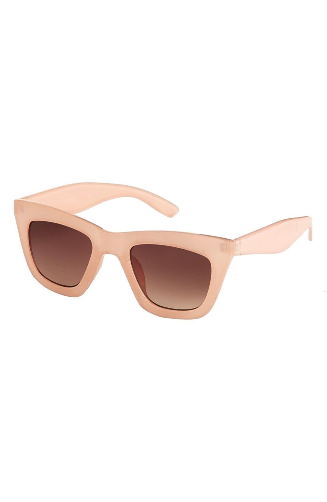 Main Image - Topshop 'Cruella' 49mm Cat Eye Sunglasses