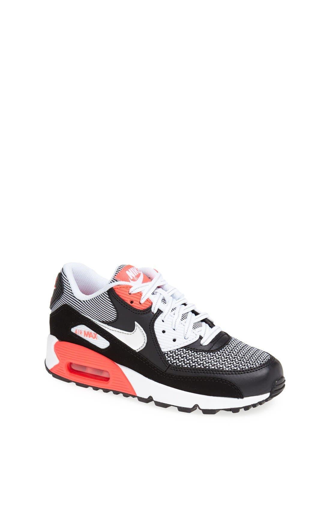 Alternate Image 1 Selected - Nike 'Air Max 90 LE' Sneaker (Big Kid)