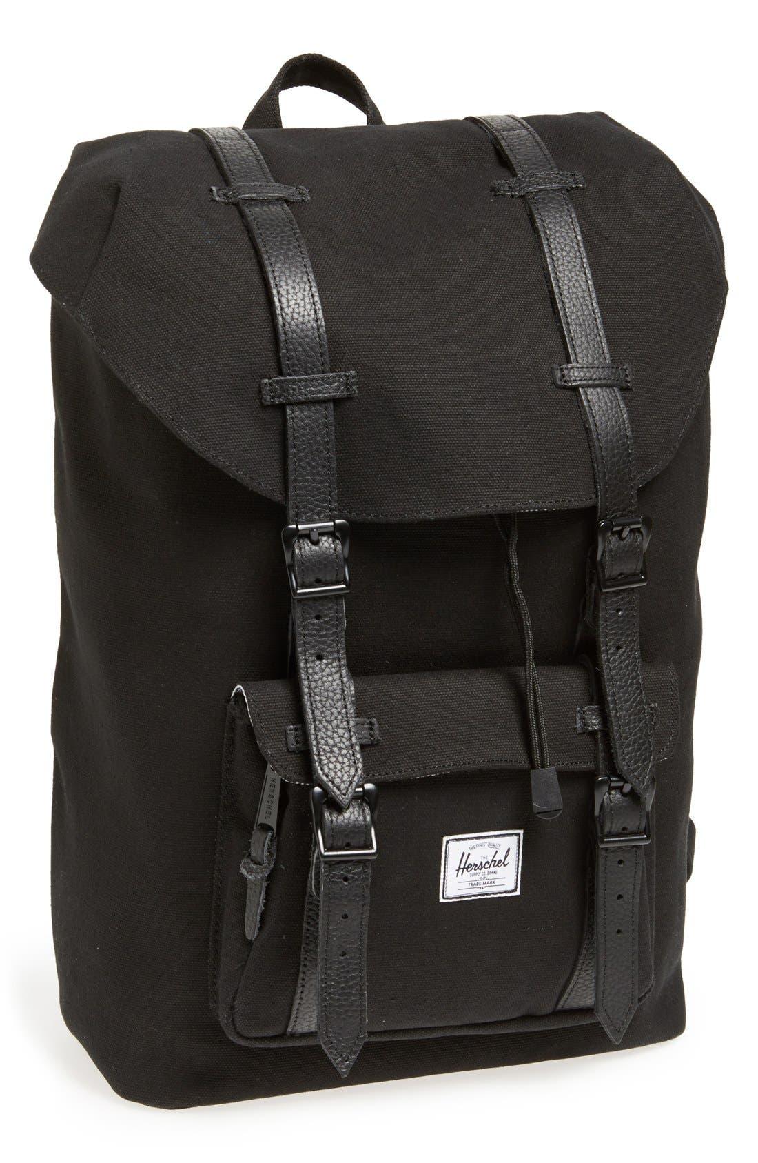 Alternate Image 1 Selected - Herschel Supply Co. 'Little America - Medium' Canvas Backpack