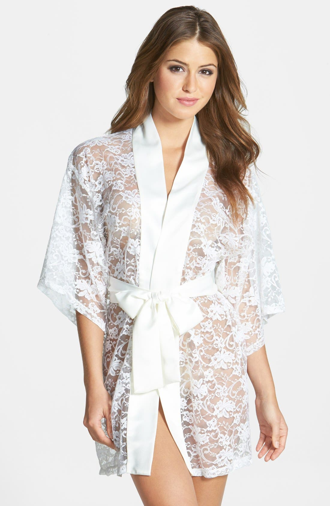 Alternate Image 1 Selected - Flora Nikrooz 'Infatuation' Lace Robe
