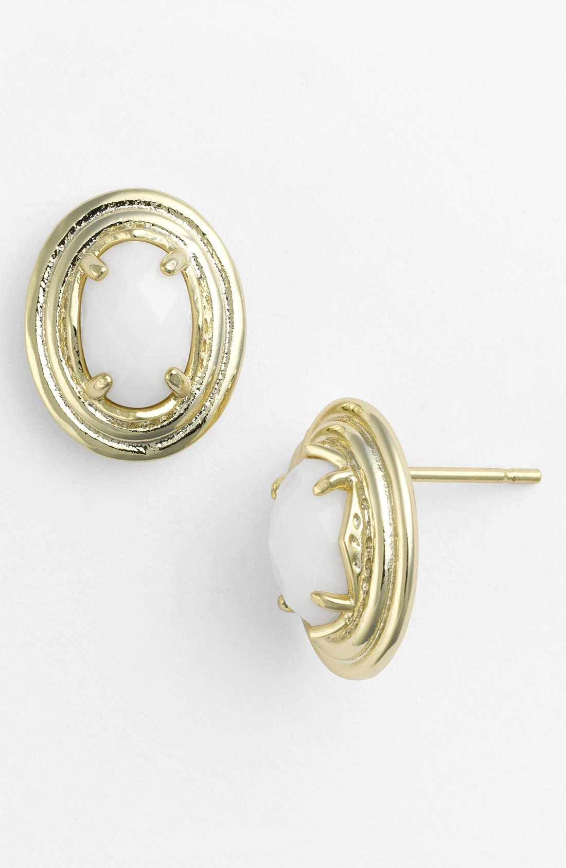 Alternate Image 1 Selected - Kendra Scott 'Yurko' Oval Stud Earrings