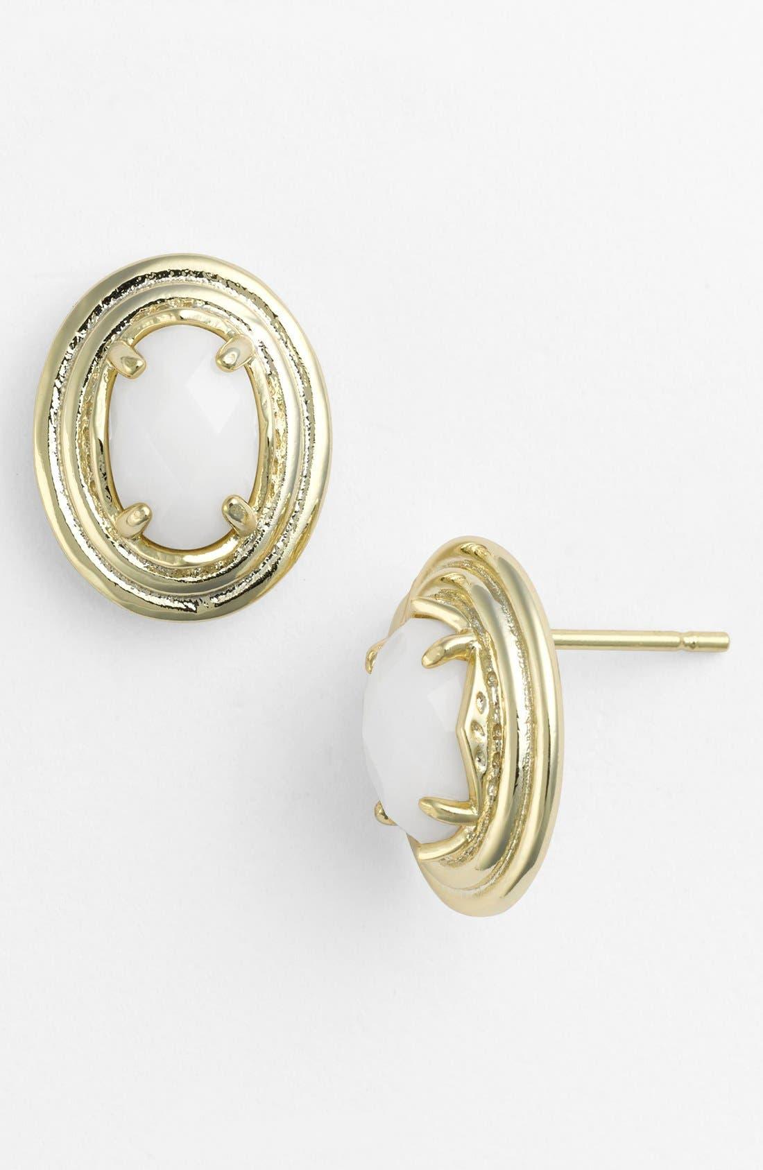 Main Image - Kendra Scott 'Yurko' Oval Stud Earrings