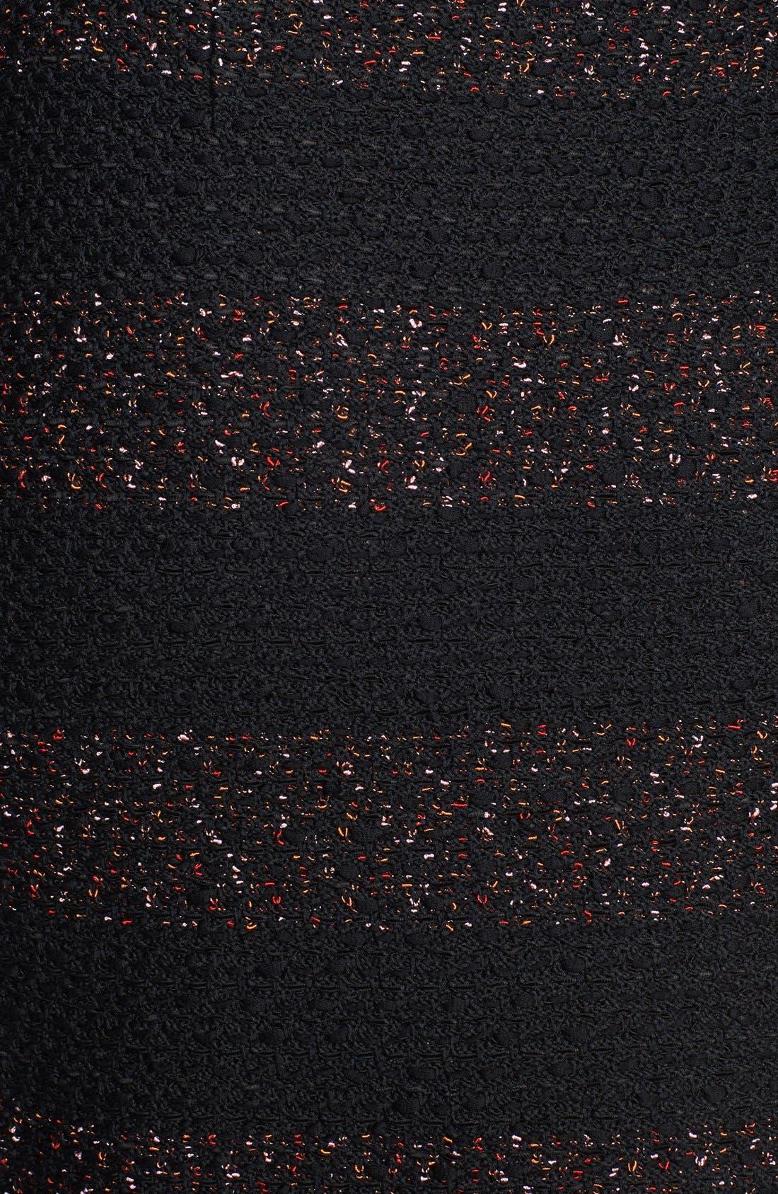 Alternate Image 3  - St. John Collection Textured Fleck Knit Pencil Skirt
