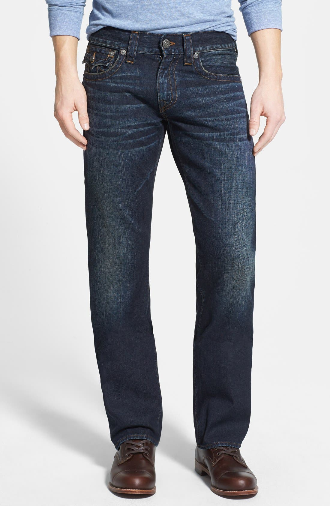 Alternate Image 2  - True Religion Brand Jeans 'Ricky' Relaxed Fit Jeans (Base Notes Blue)