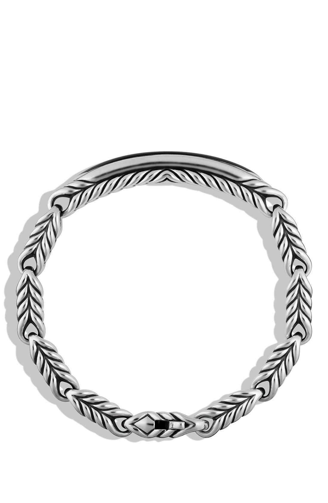 Alternate Image 2  - David Yurman 'Chevron' ID Bracelet