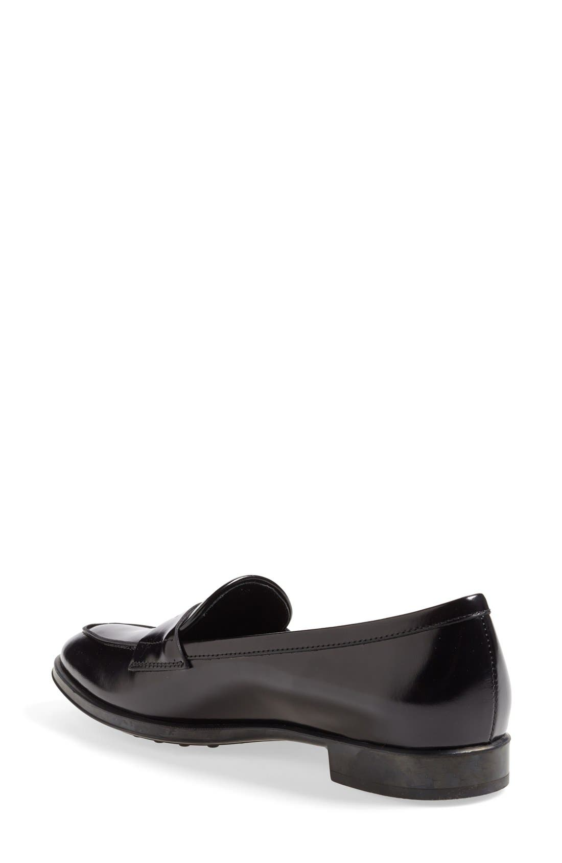 Alternate Image 2  - Tod's Leather Penny Loafer (Women)
