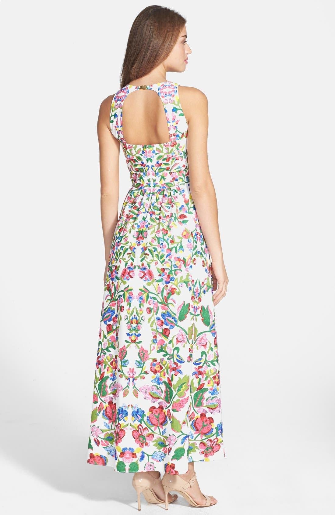 Alternate Image 2  - Cynthia Steffe Print Fit & Flare Midi Dress