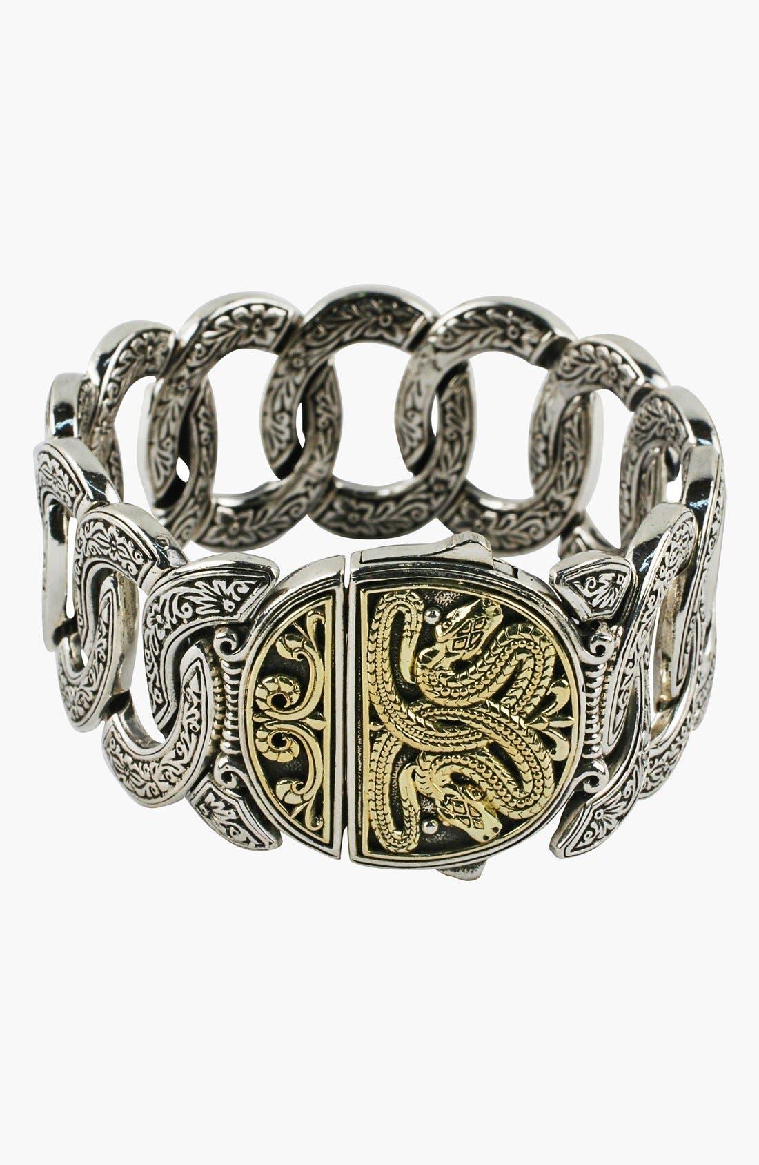 'Classics' Link Bracelet,                             Alternate thumbnail 2, color,                             Silver/ Gold